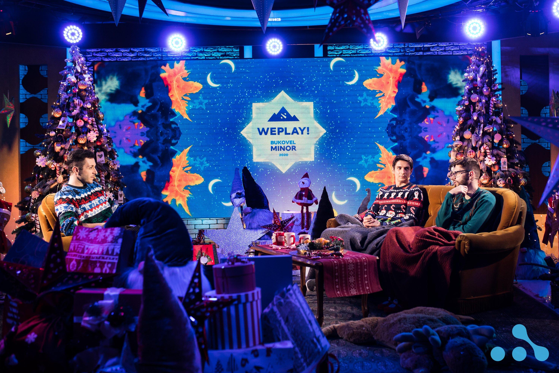 WePlay! Bukovel Minor 2020 Studio Setup