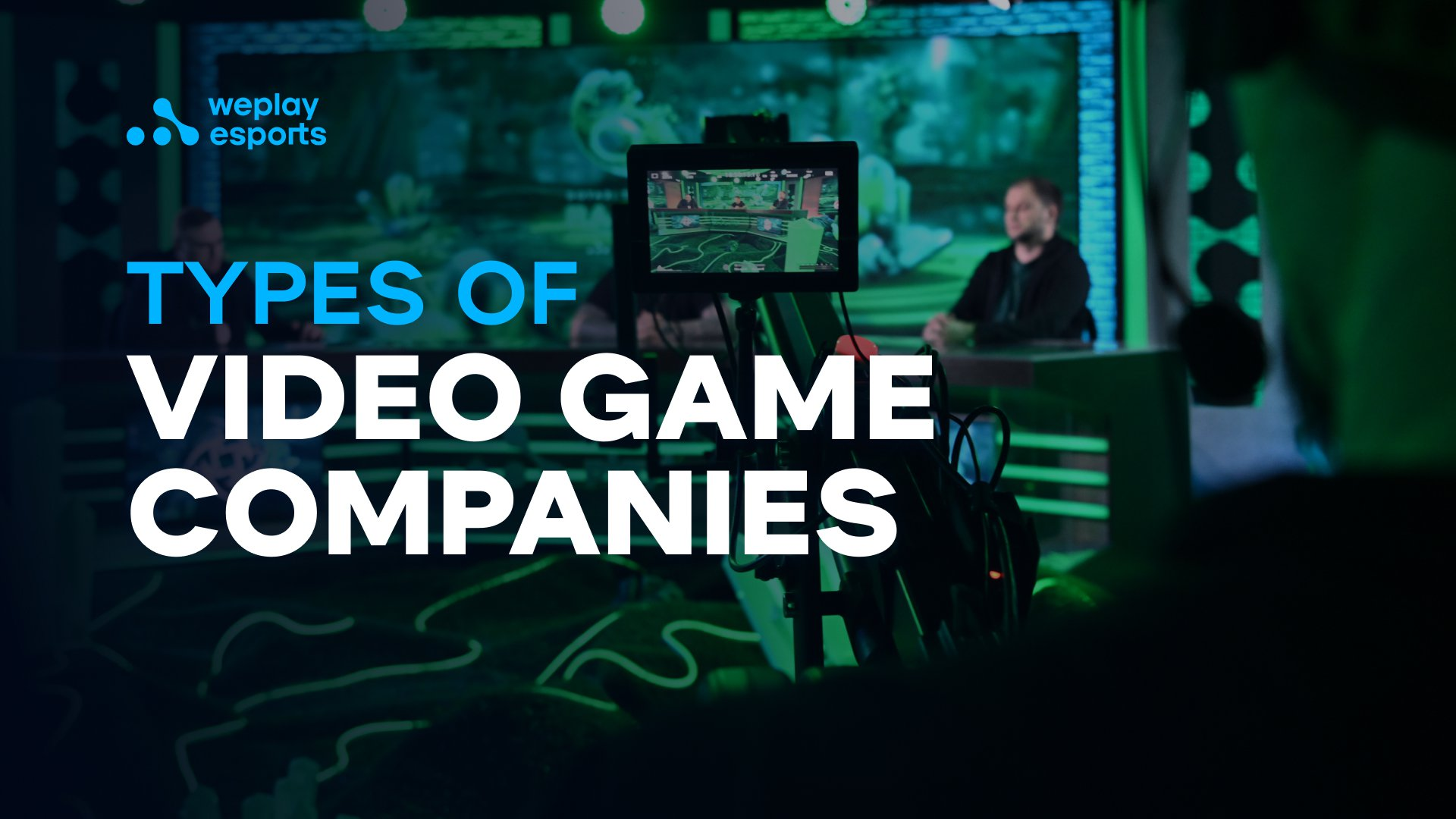 Types of Video Game Companies