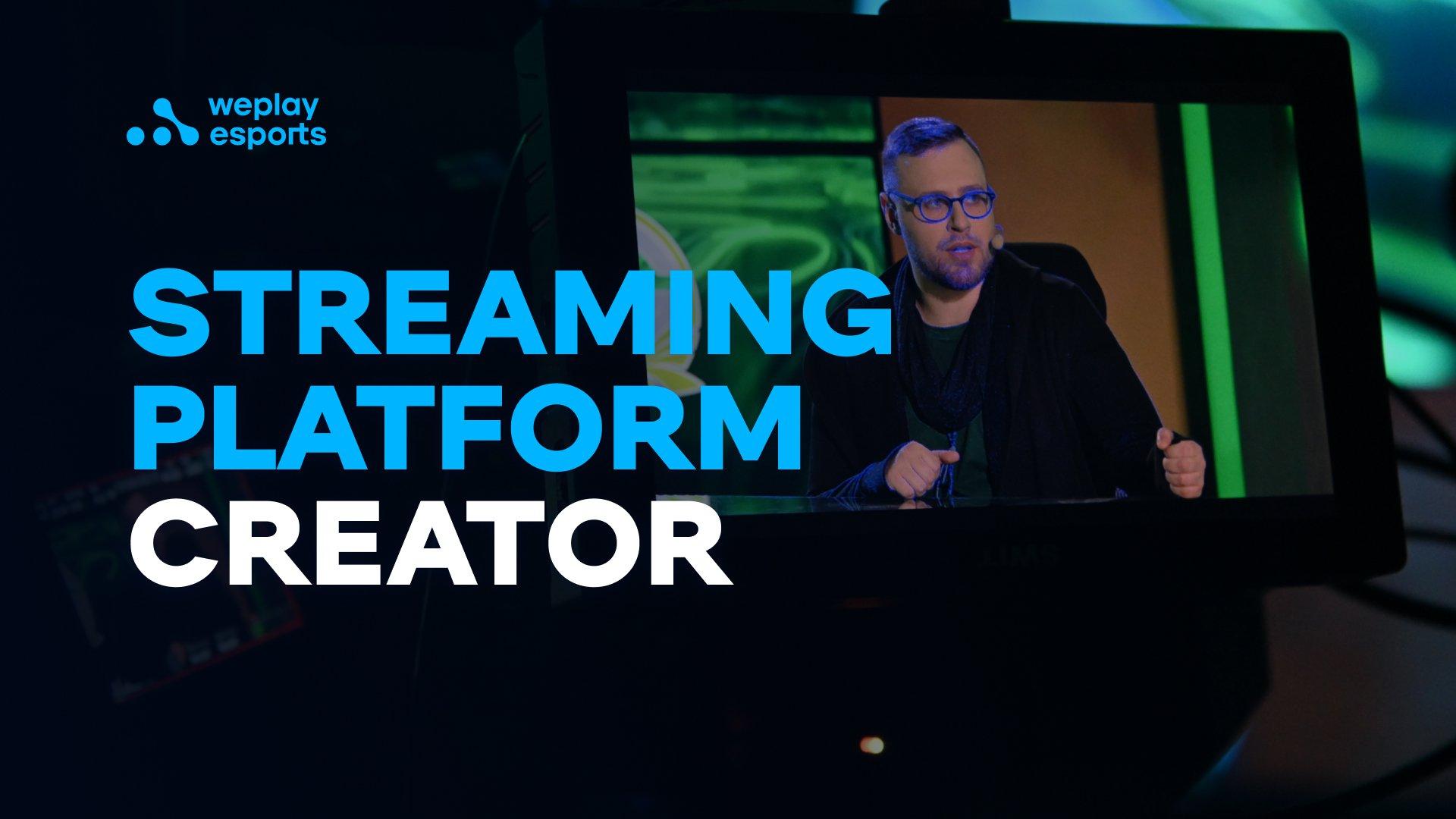 Streaming Platform Creator