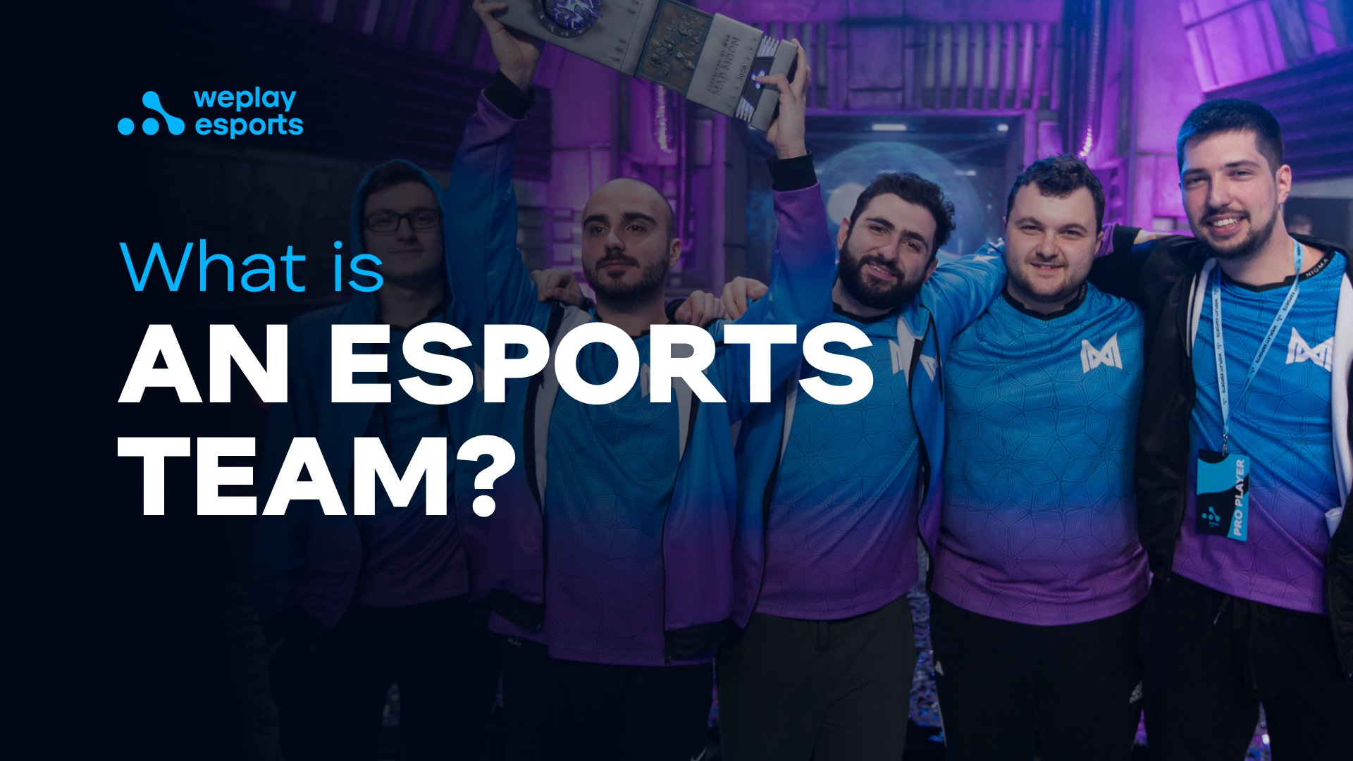 What is an esports team?