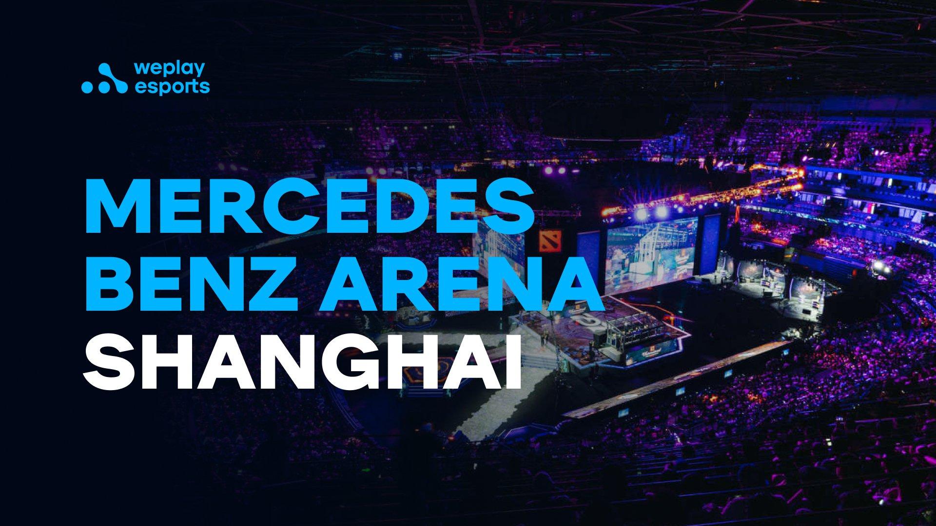 Mercedes Benz Arena Shanghai