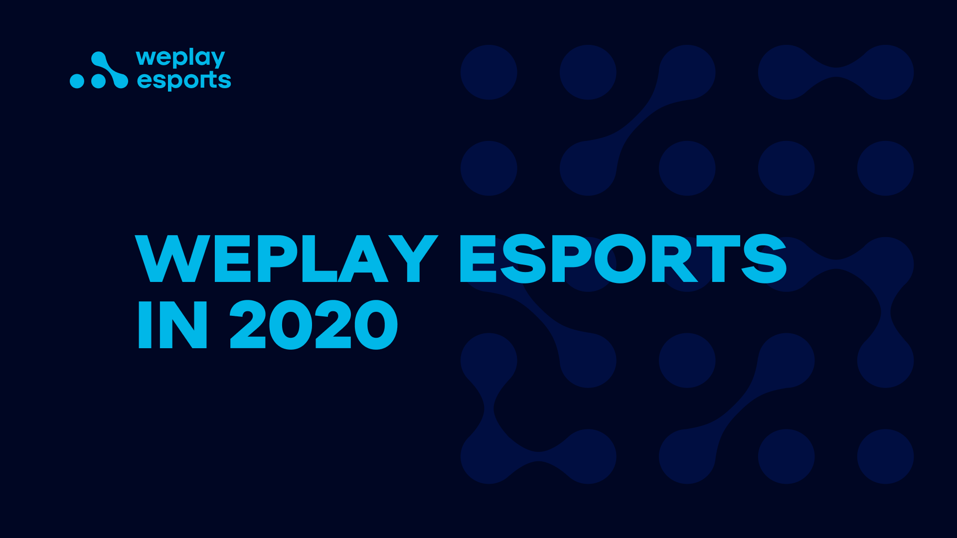 The Year in Review: How WePlay Esports Spent 2020
