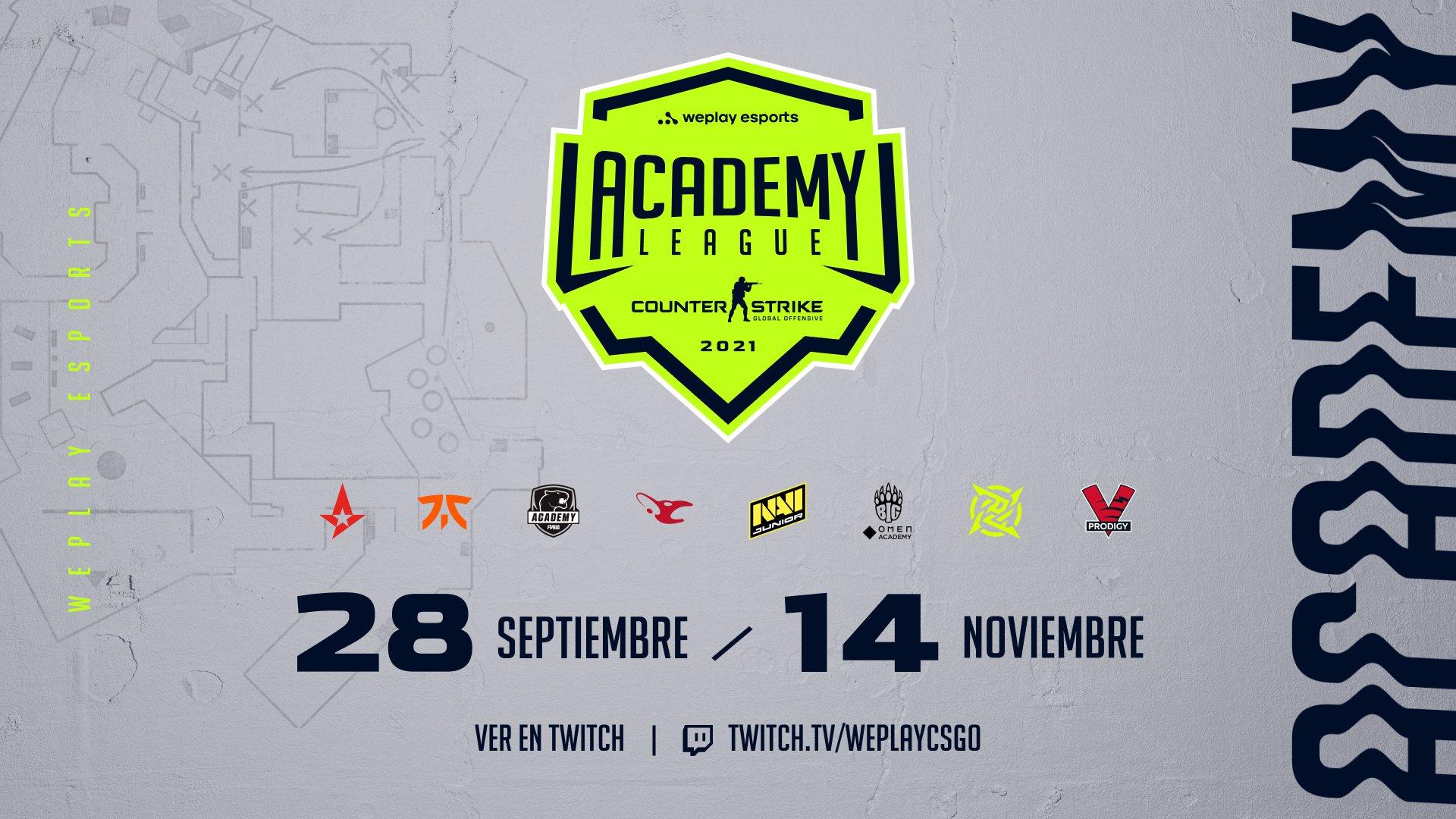 WePlay Academy League Season 2. Imagen: WePlay Holding
