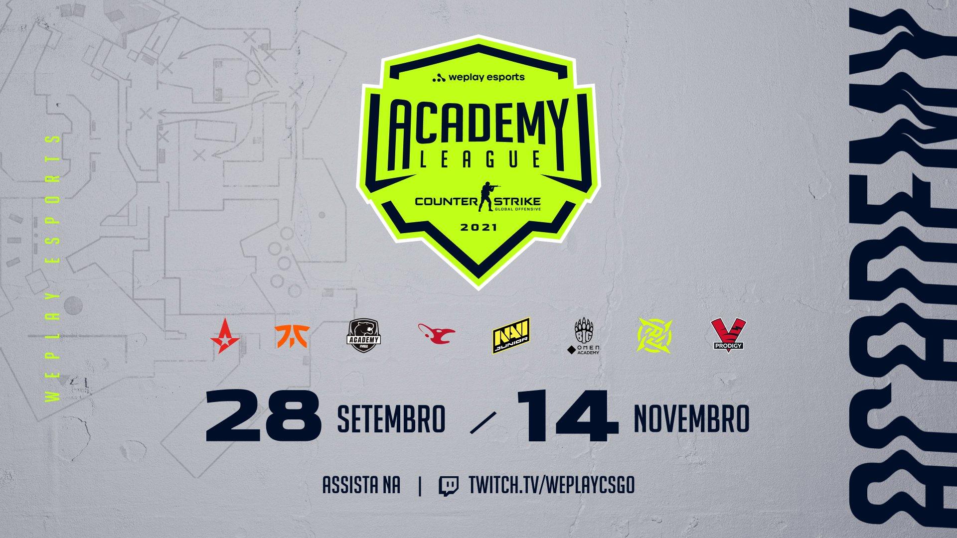 WePlay Academy League Season 2. Imagem: WePlay Holding