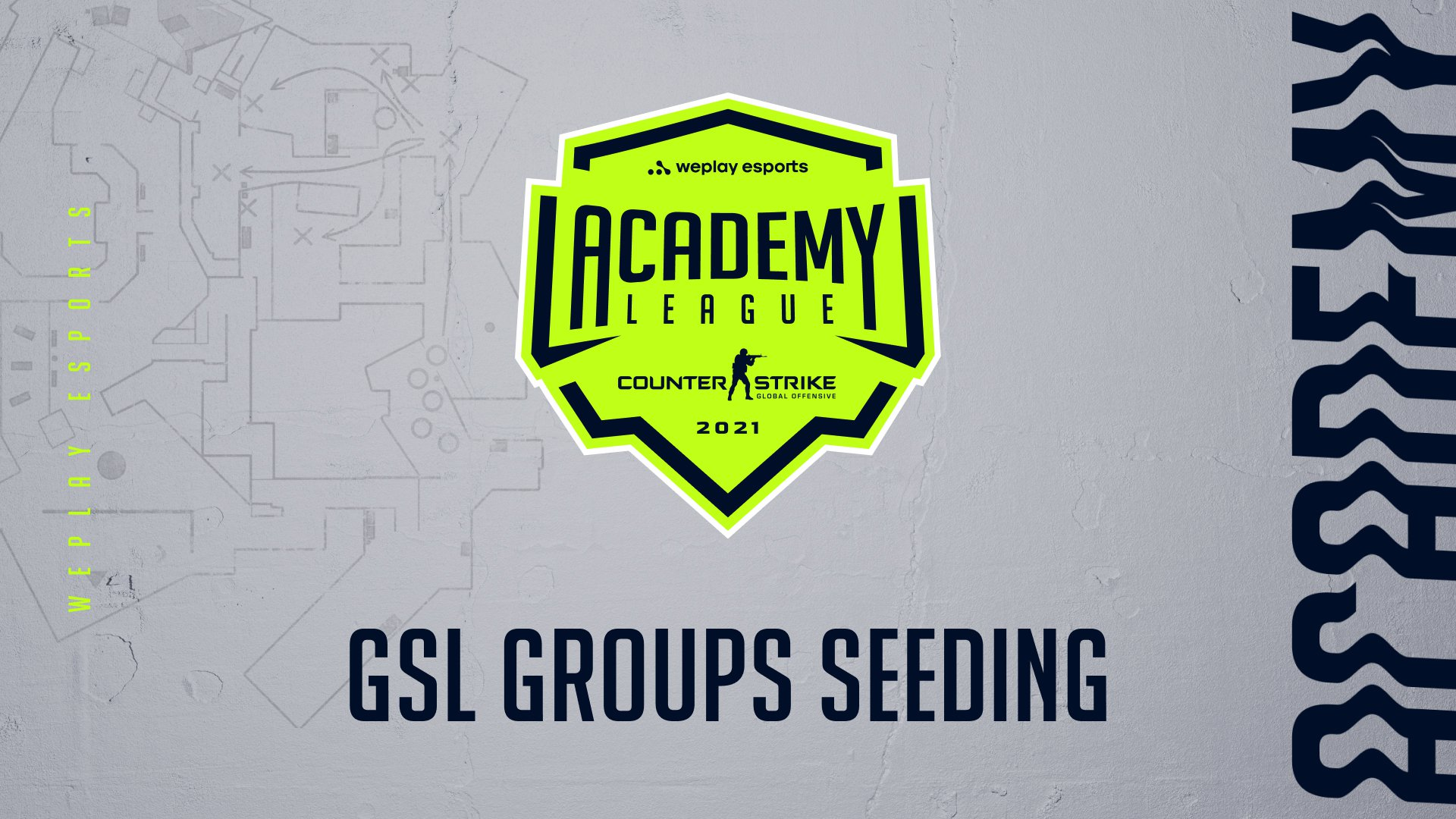GSL groups composition for the WePlay Academy League Season 2 is defined. Image: WePlay Holding
