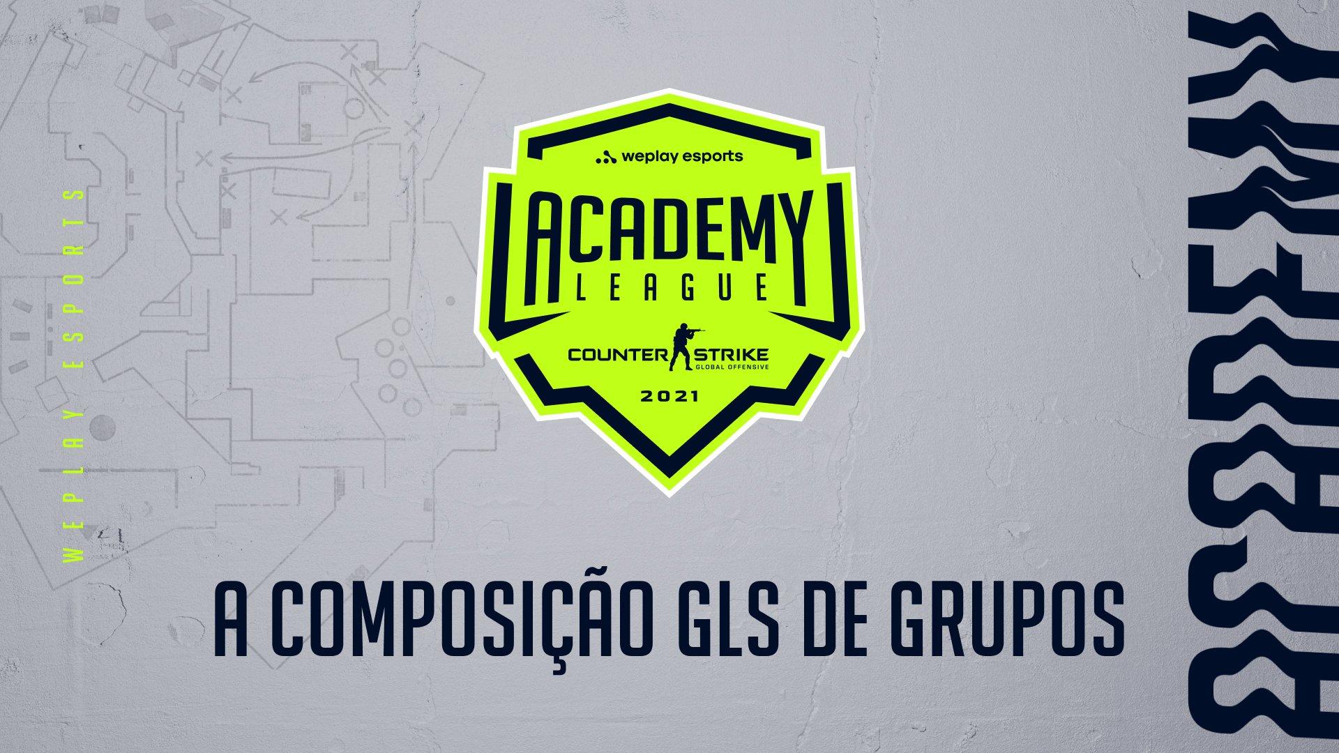 A composição GLS de grupos para o WePlay Academy League Season 2 está definida. Imagem: WePlay Holding