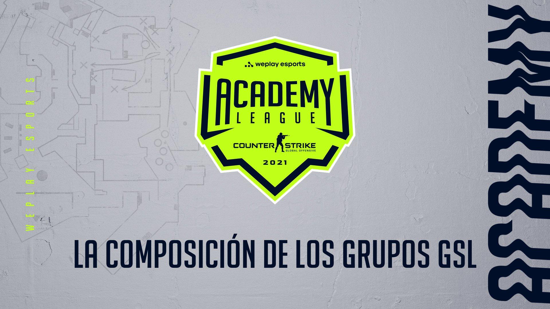 Se define la composición de los grupos GSL para la Temporada 2 de la WePlay Academy League. Imagen: WePlay Holding
