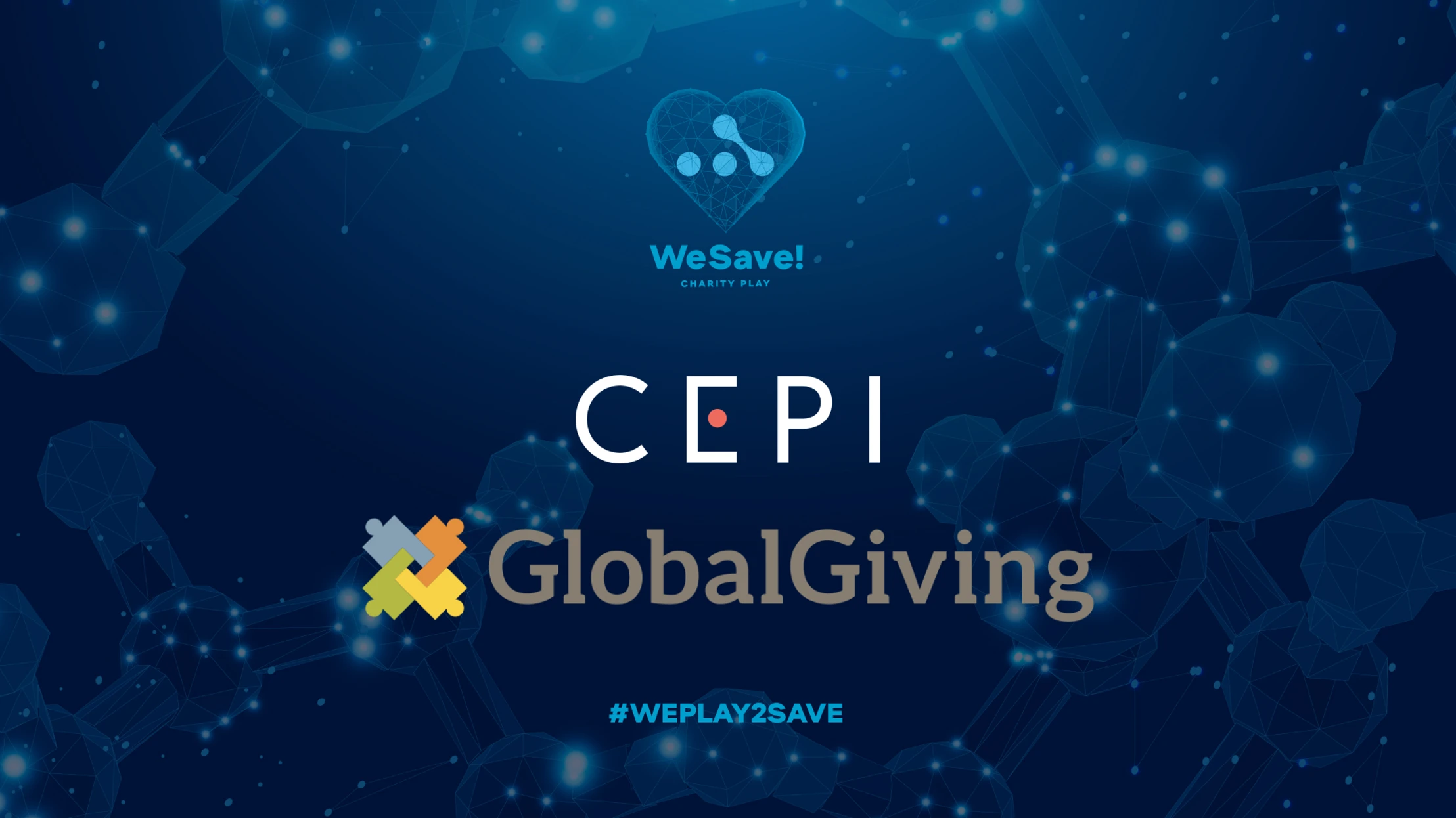 Announcing the charitable funds for WeSave! Charity Play