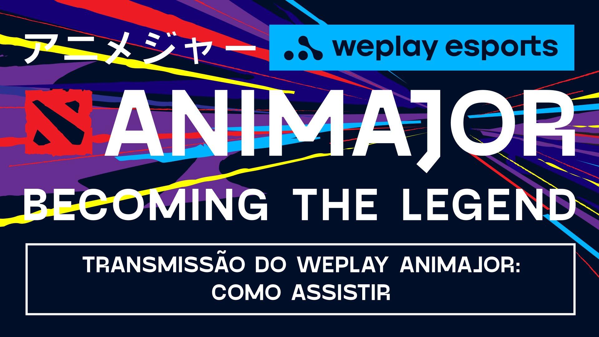 Transmissão do WePlay AniMajor. Imagem: WePlay Esports