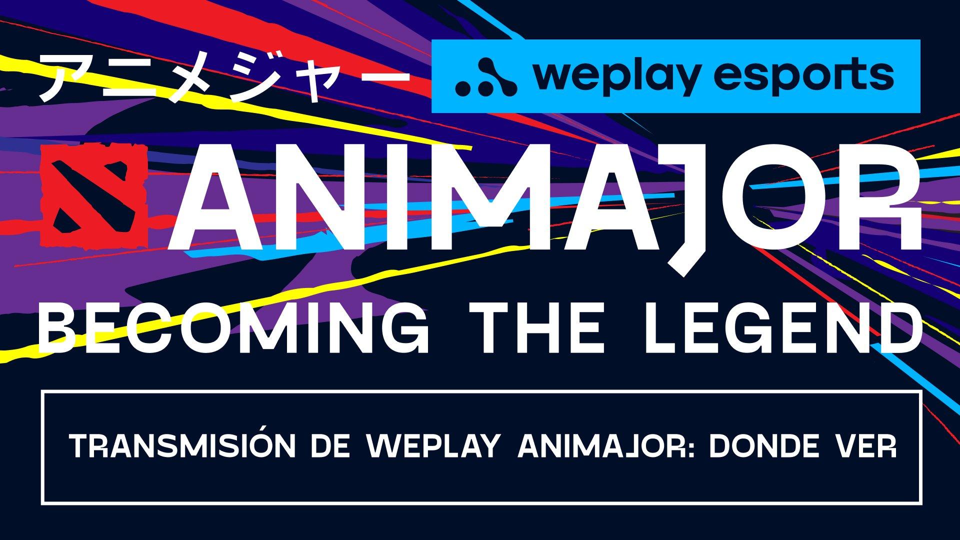 Transmisión de WePlay AniMajor. Imagen: WePlay Esports