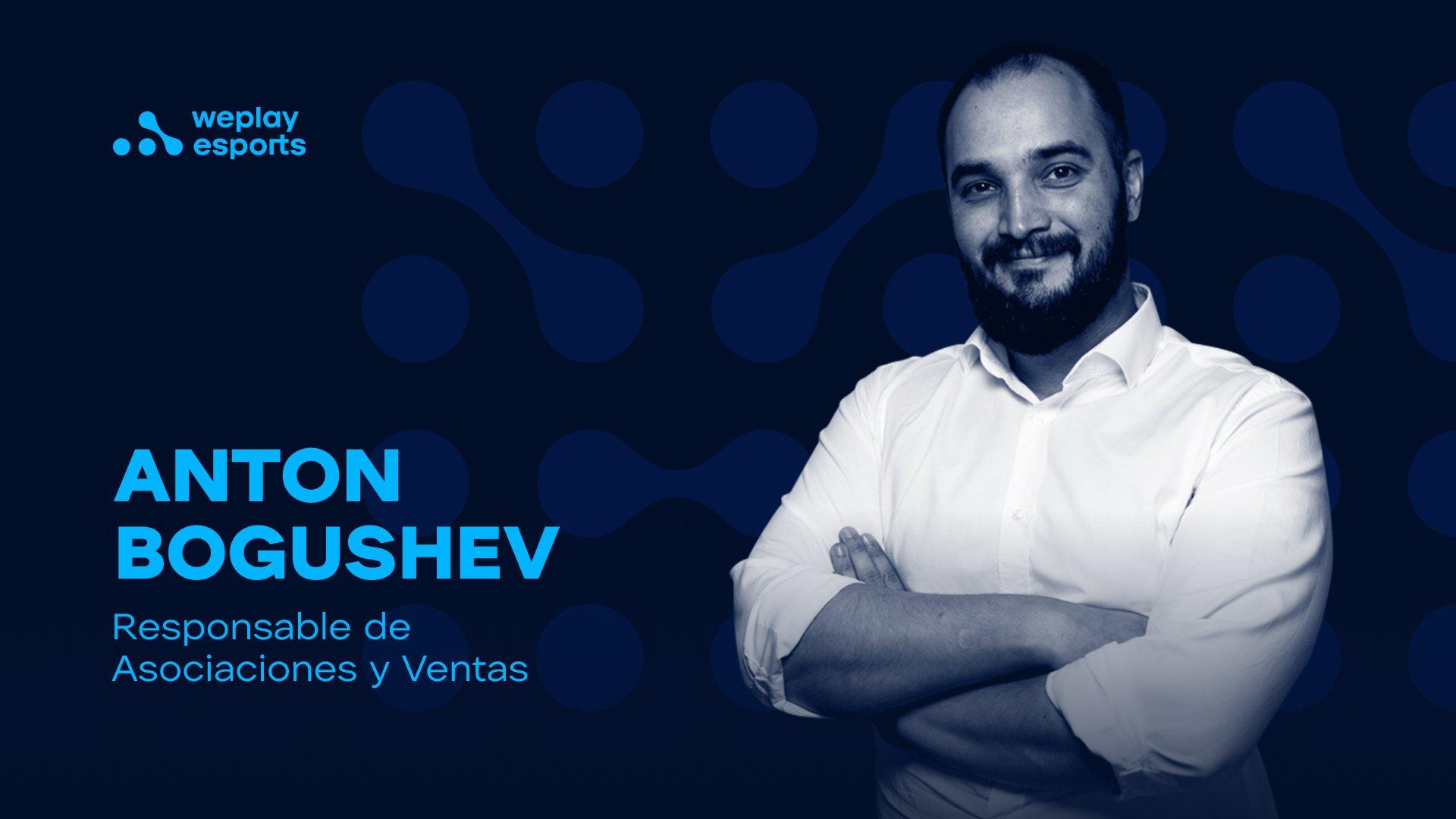 Anton Bogushev es el nuevo responsable de asociaciones y ventas en WePlay Holding