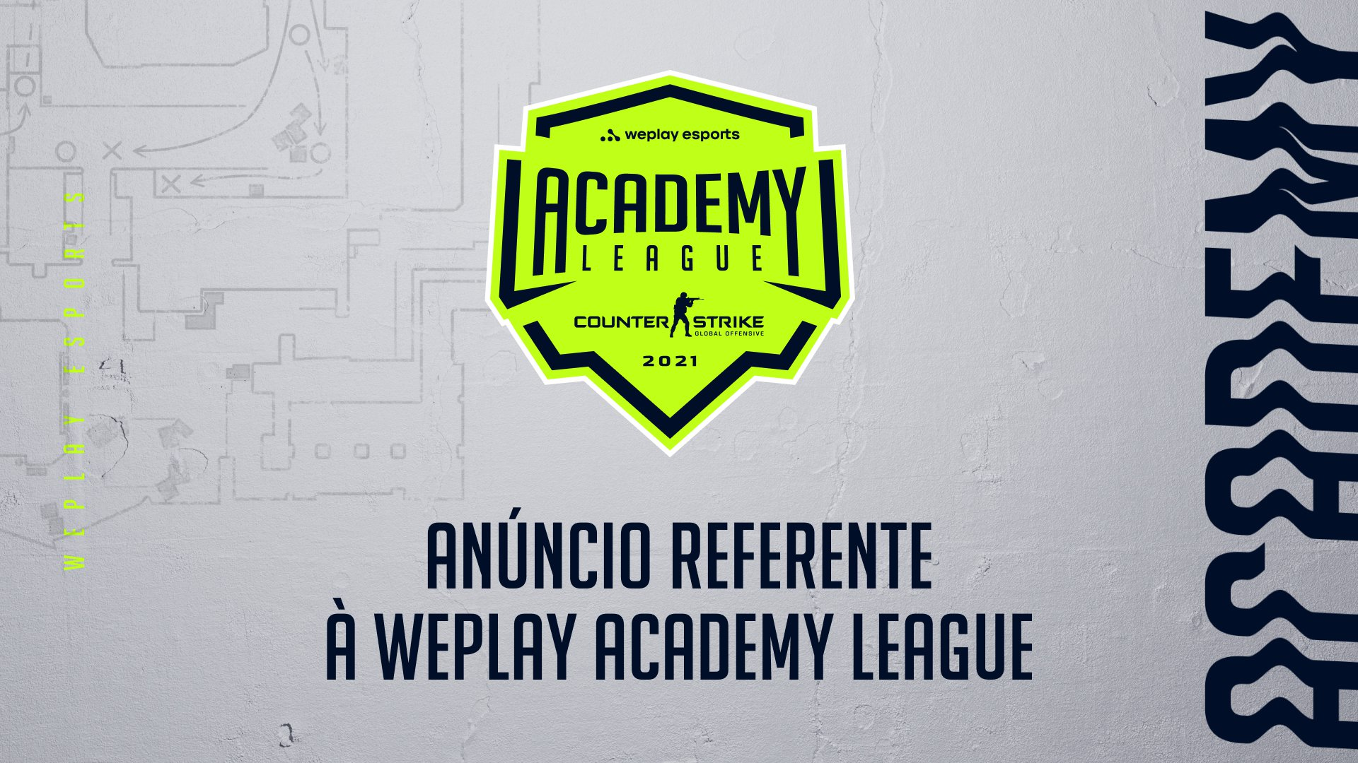 Anúncio referente à WePlay Academy League. Imagem: WePlay Holding