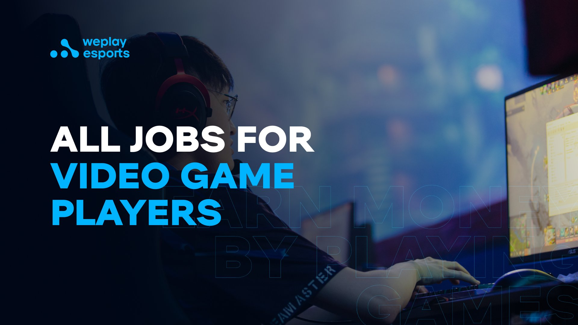 All Jobs for Video Game Players