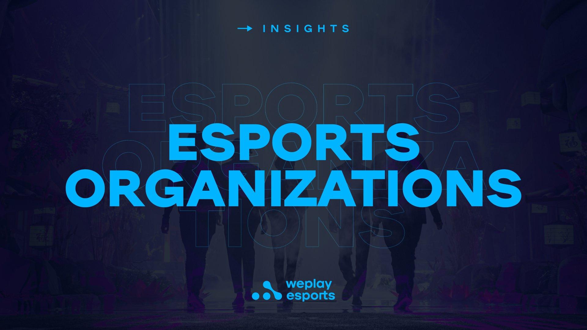 Esports Organizations. Image: WePlay Holding