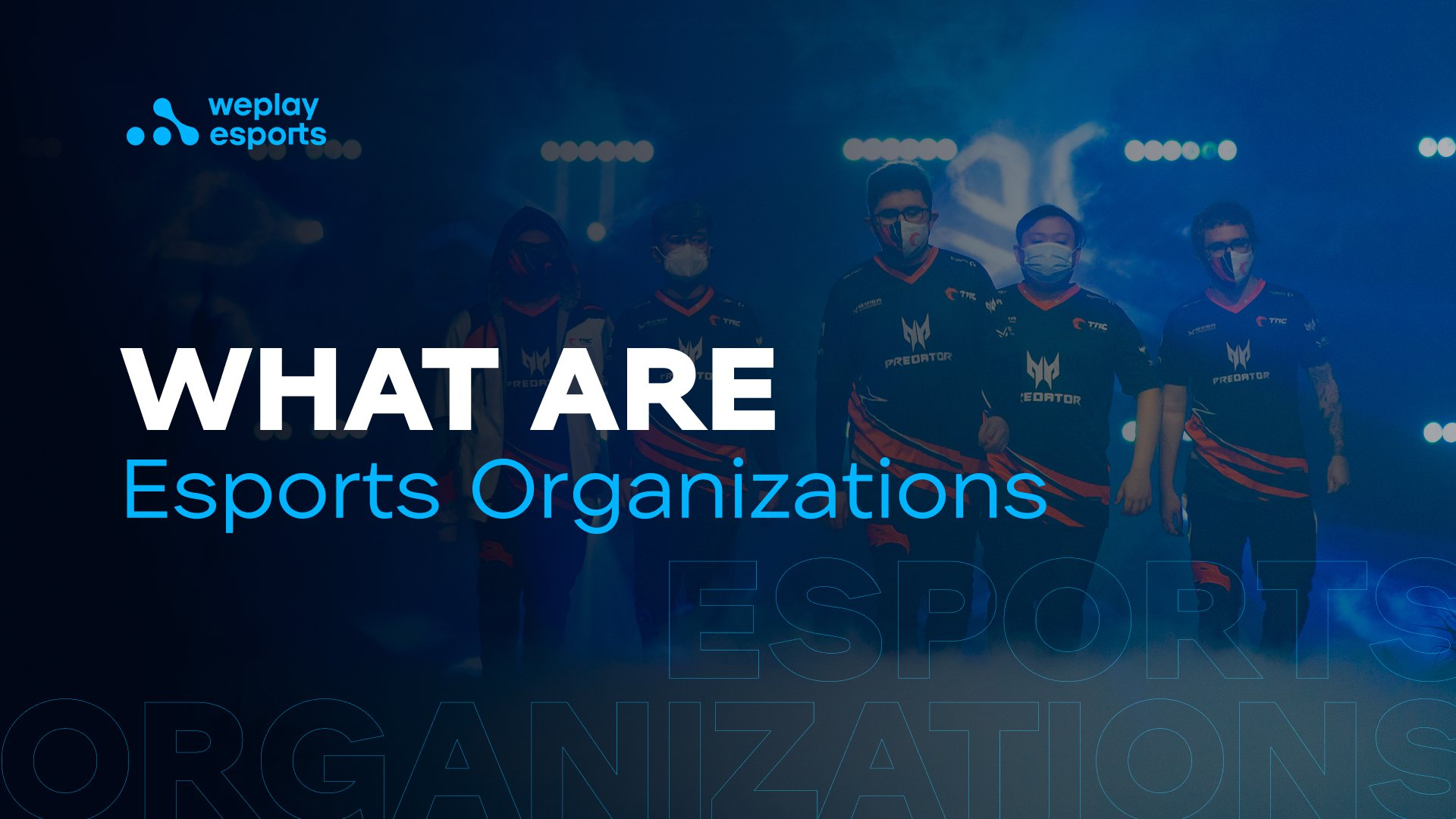 What are Esports Organizations