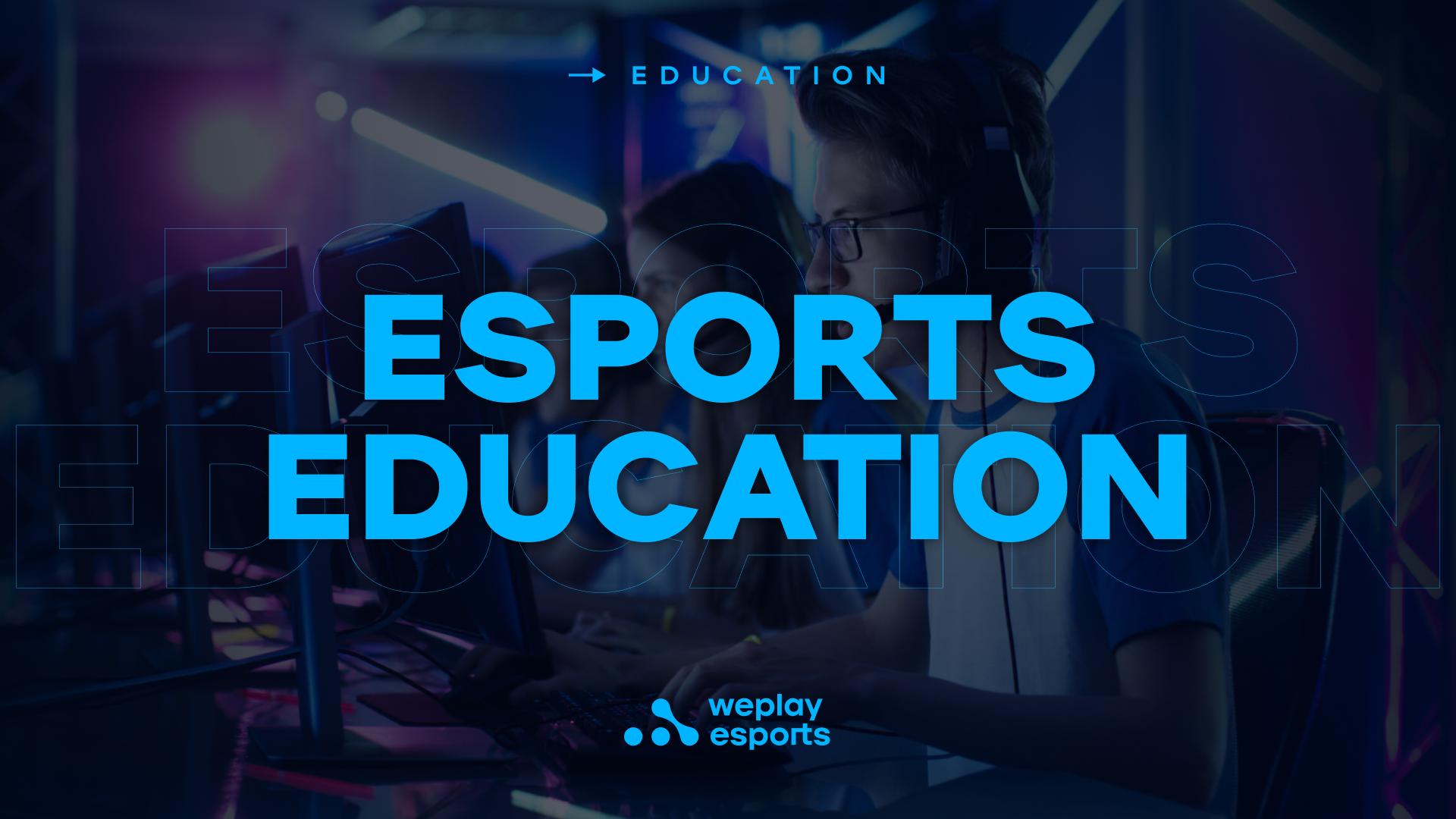 Esports education. Image: WePlay Holding