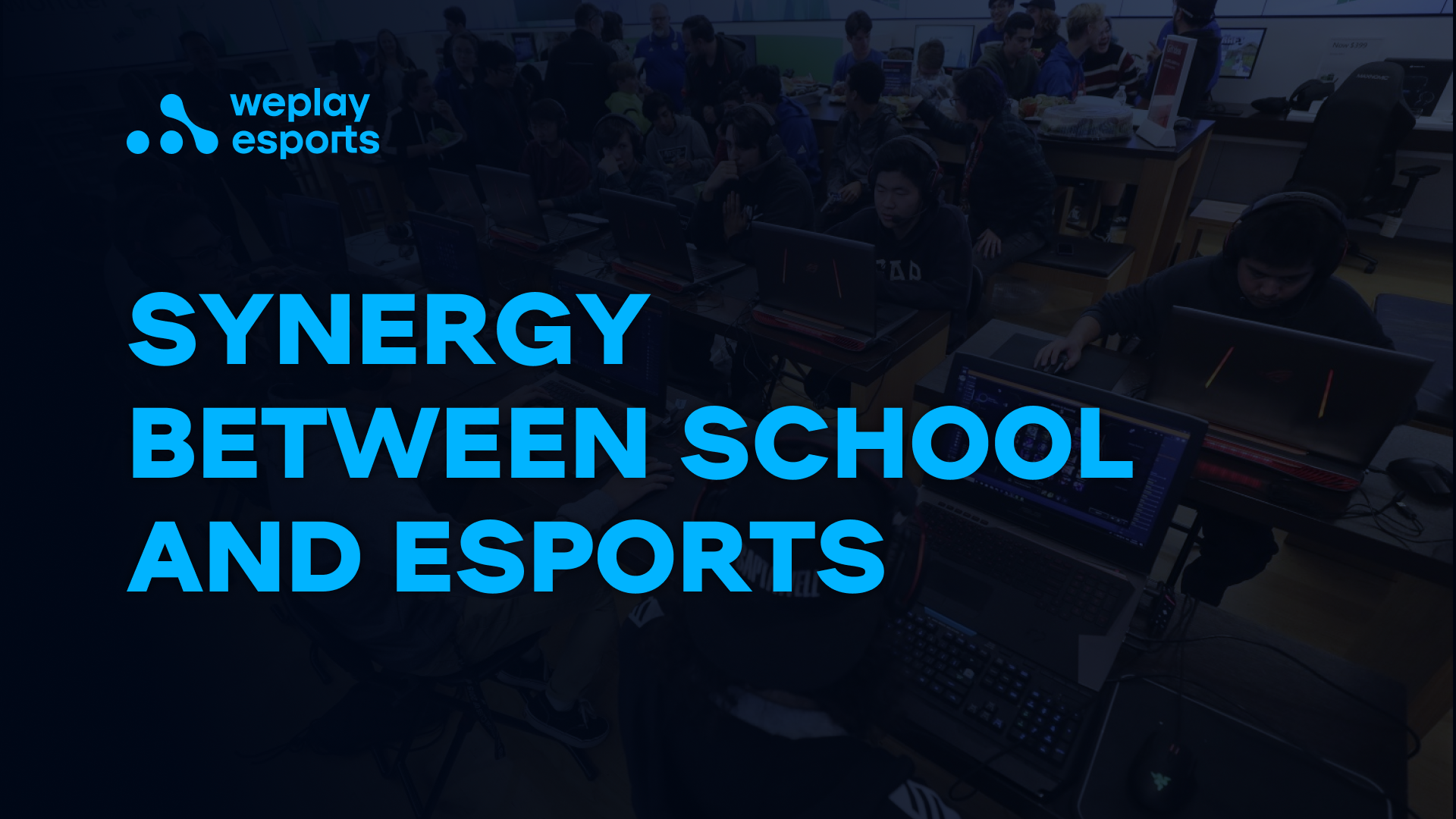 Synergy between school and esports