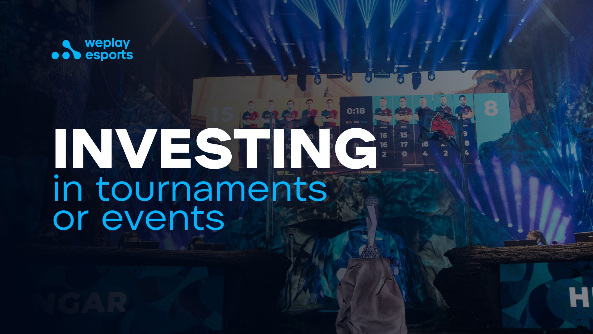 Investing in tournaments or events