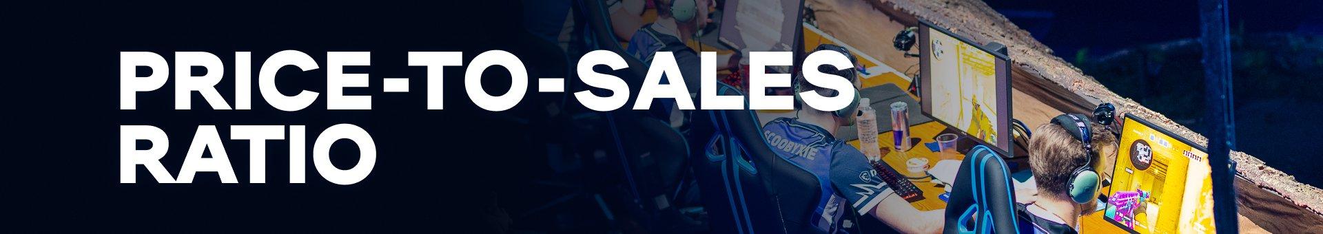 Price-to-sales ratio
