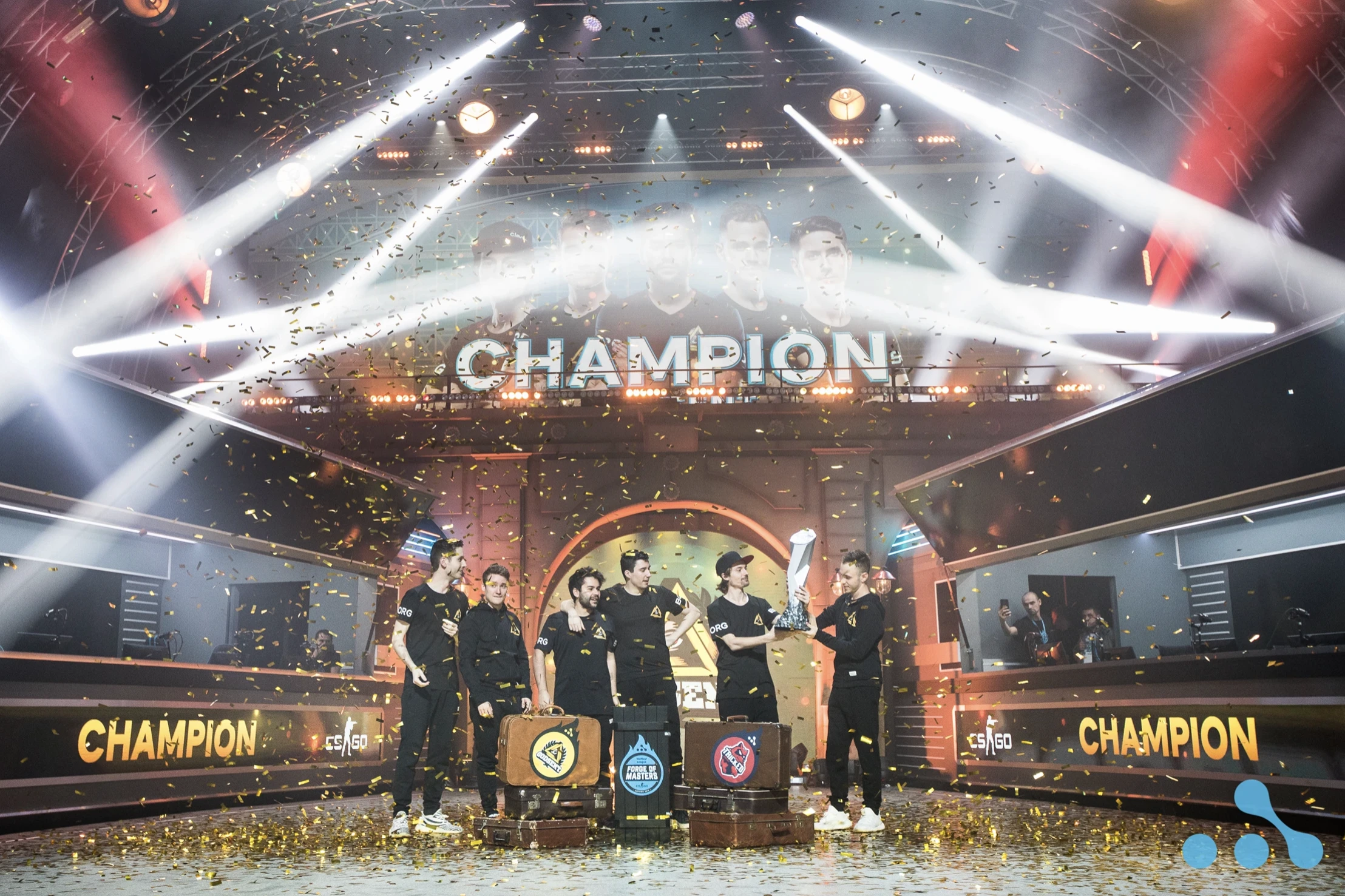 GODSENT are the Forge of Masters. WePlay! League Season 2 Champions