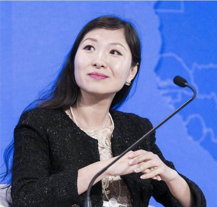 Helen Hai, directora de Binance  NFT. Foto: Binance