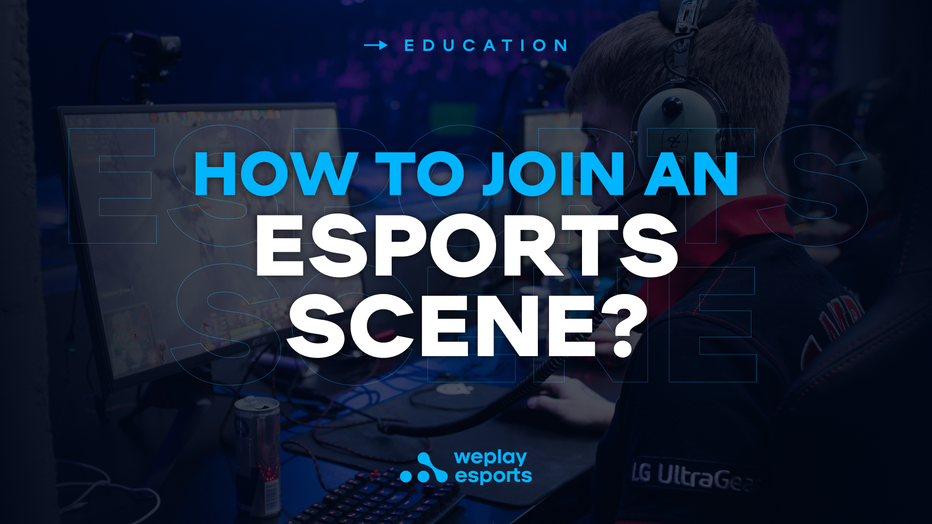 How to join an esports scene...? Image: WePlay Holding