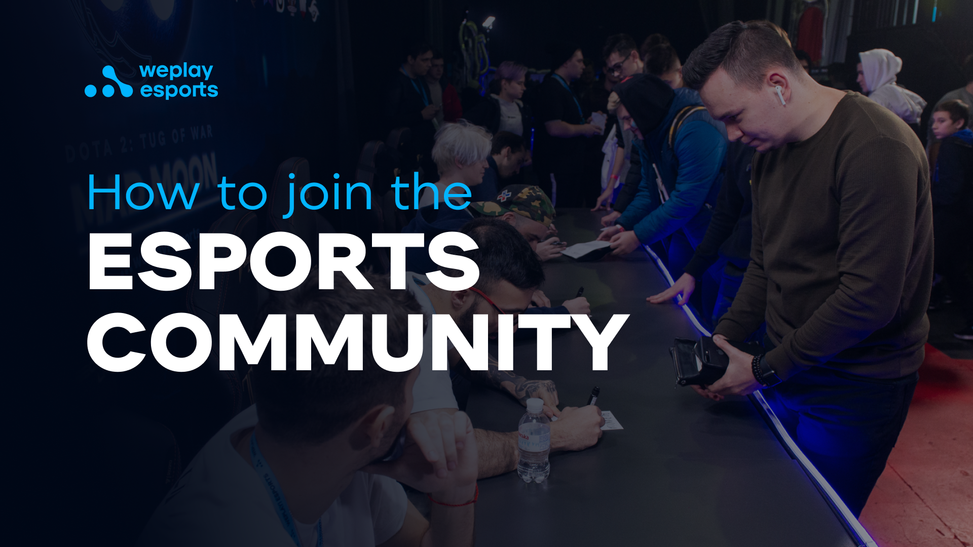 How to join an esport community