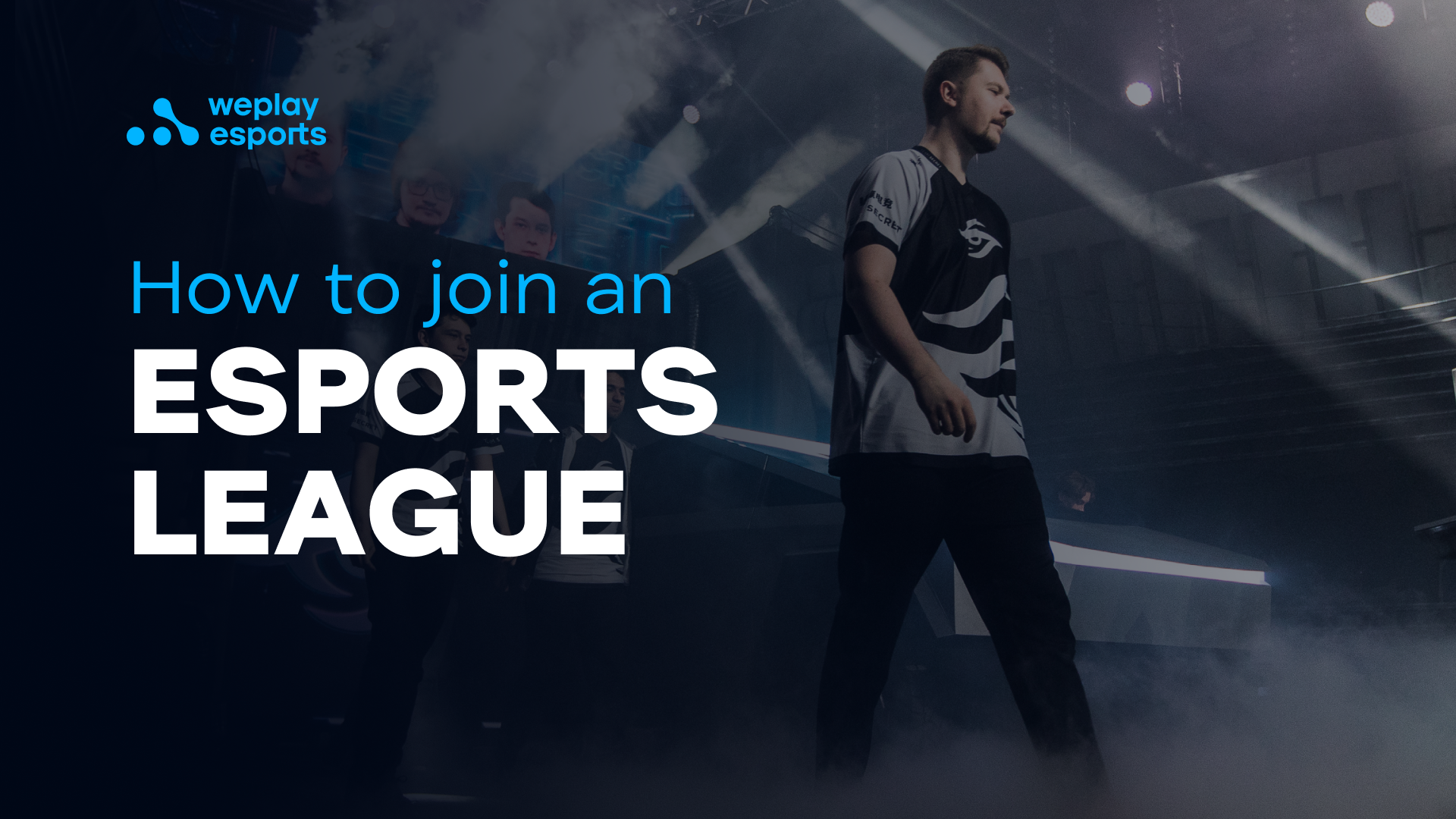 How to join an esports league