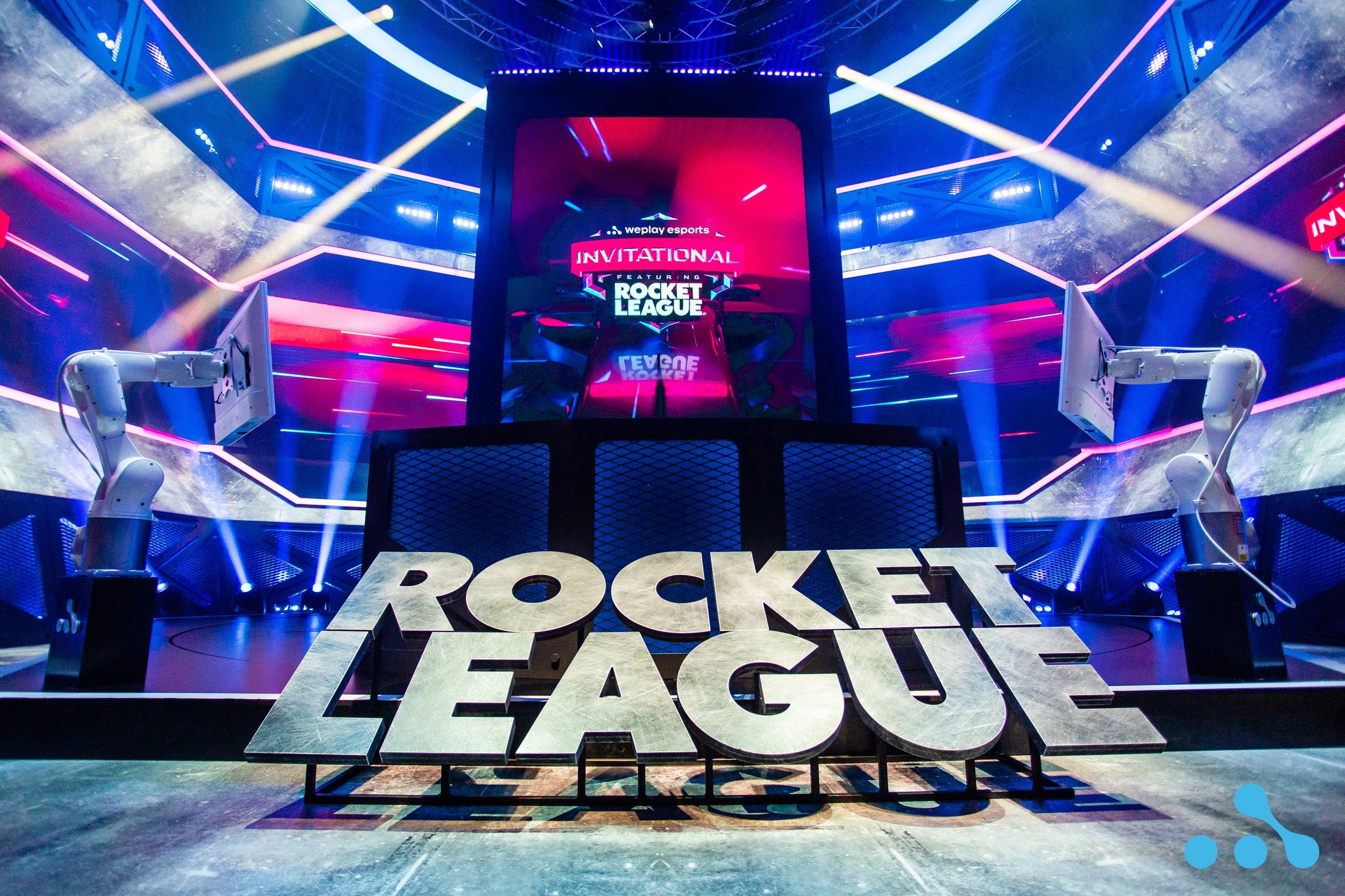 WePlay Esports Invitational featuring Rocket League. Photo: WePlay Holding