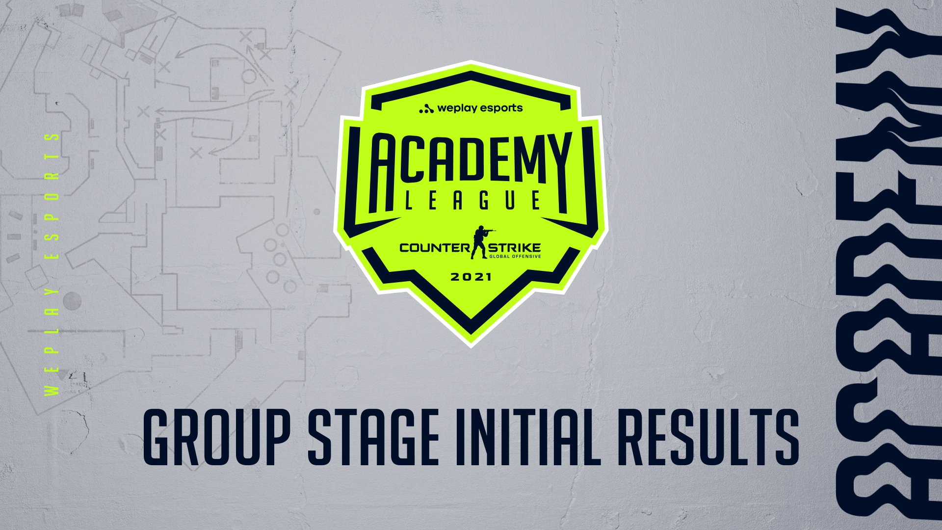 WePlay Academy League Season 2 Group Stage initial results. Image: WePlay Holding