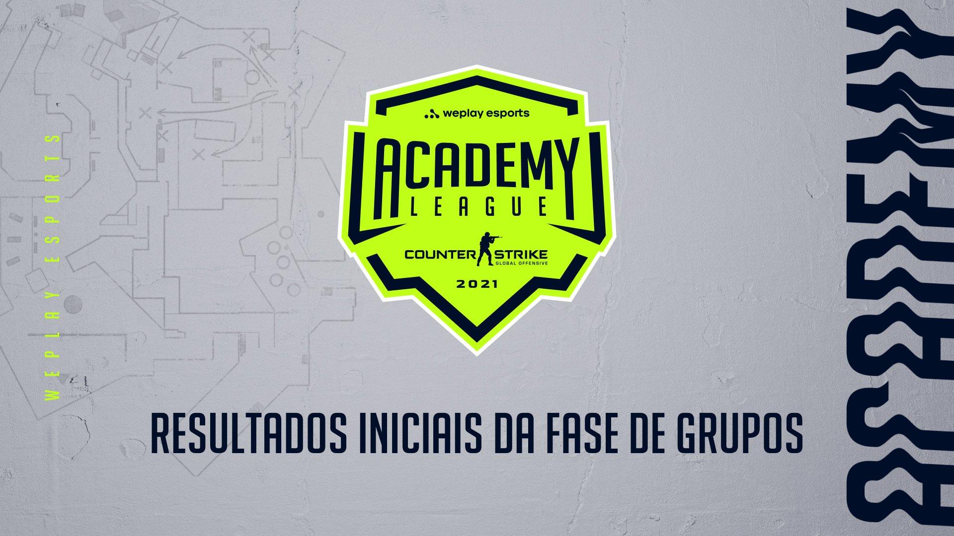 WePlay Academy League Season 2: resultados iniciais da fase de grupos. Imagem: WePlay Holding