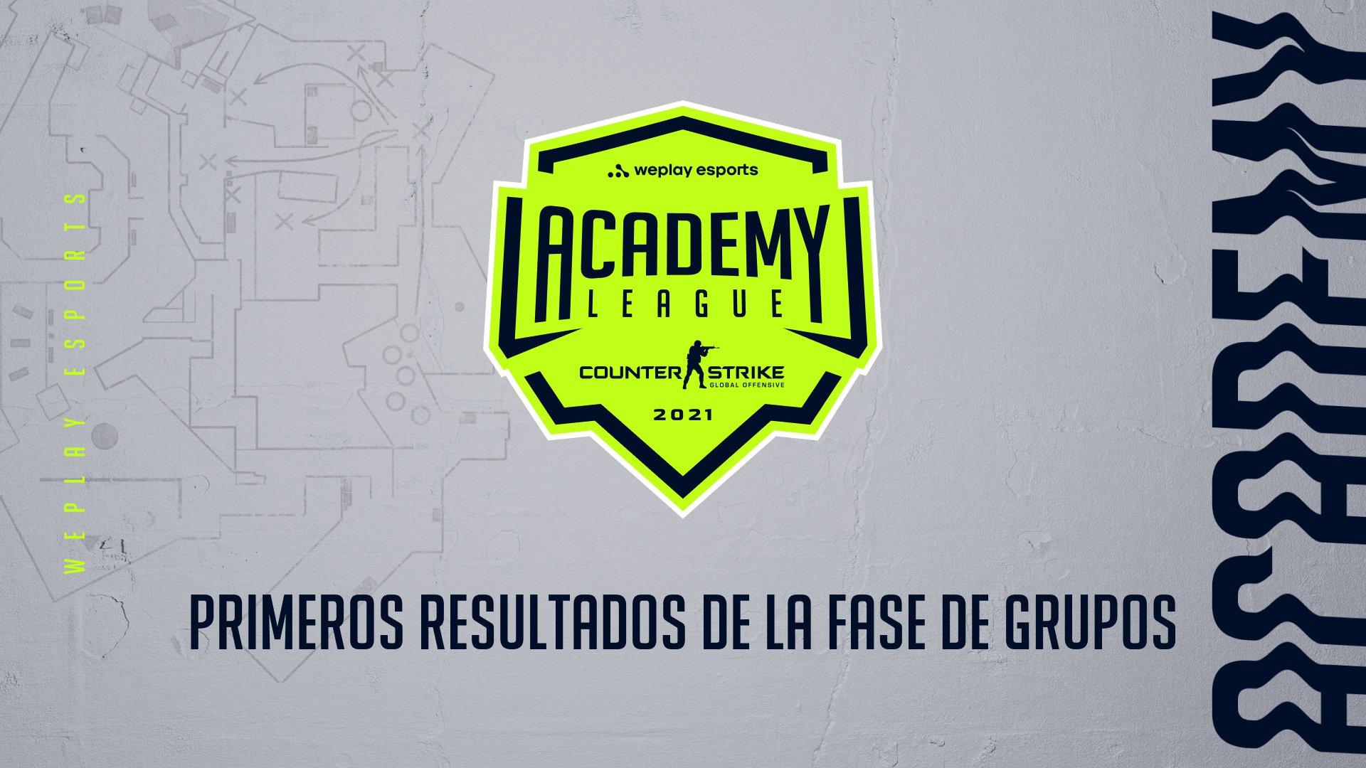 Primeros resultados de la Fase de grupos de la Temporada 2 de la liga WePlay Academy League. Imagen: WePlay Holding