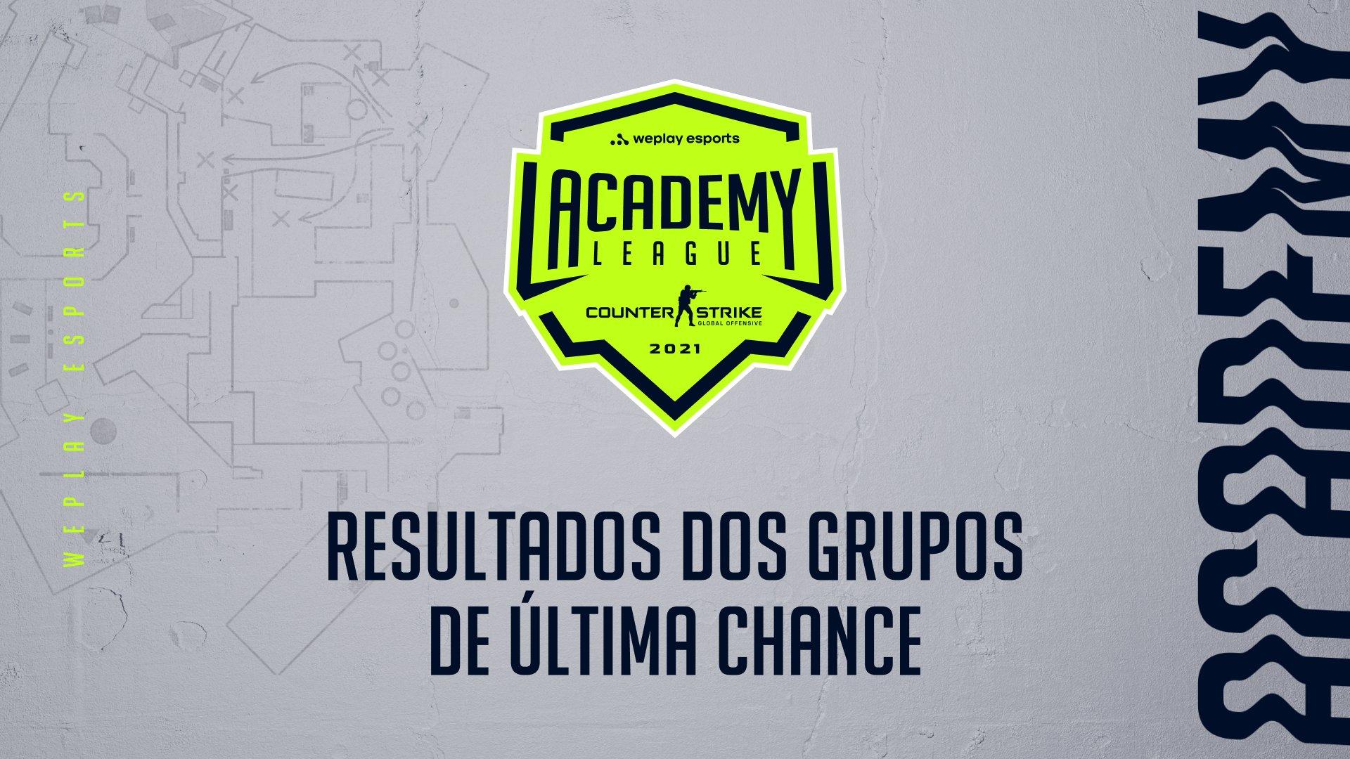 WePlay Academy League Season 2: Resultados do grupo de última chance. Imagem: WePlay Holding
