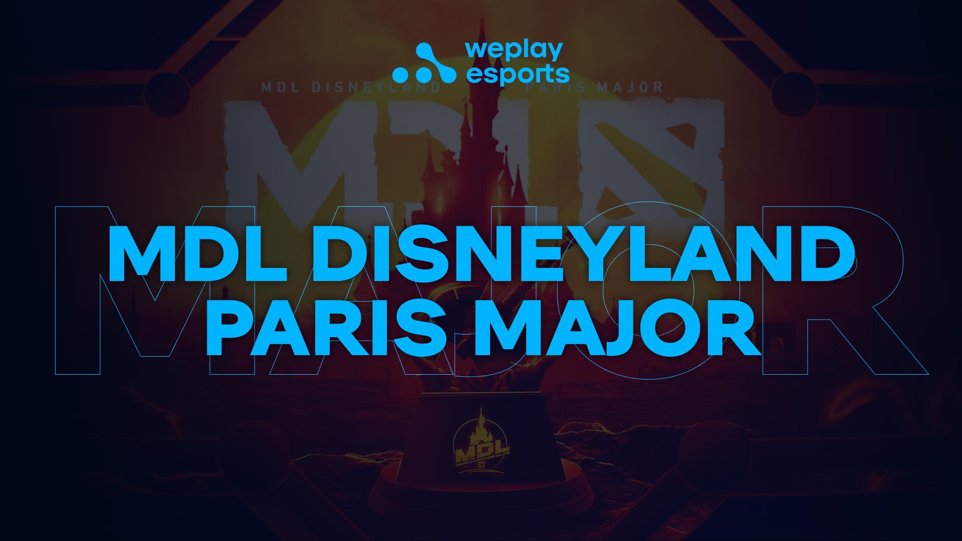 MDL Disneyland Paris Major. Image: WePlay Holding