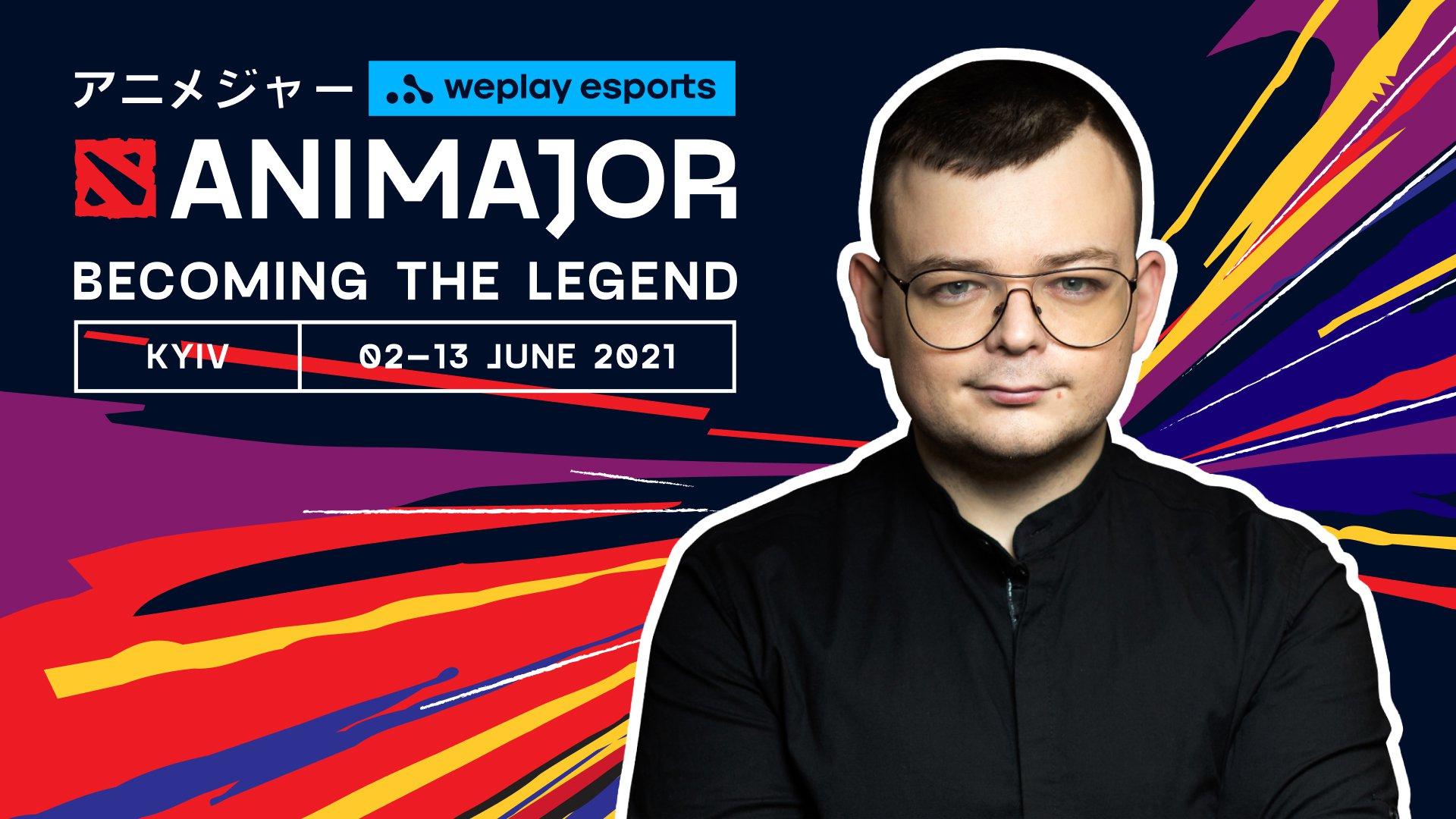 马克西姆·比洛诺戈夫(Maksym Bilonogov), WePlay Esports的总制片人兼首席前瞻性官。 照片: WePlay Esports
