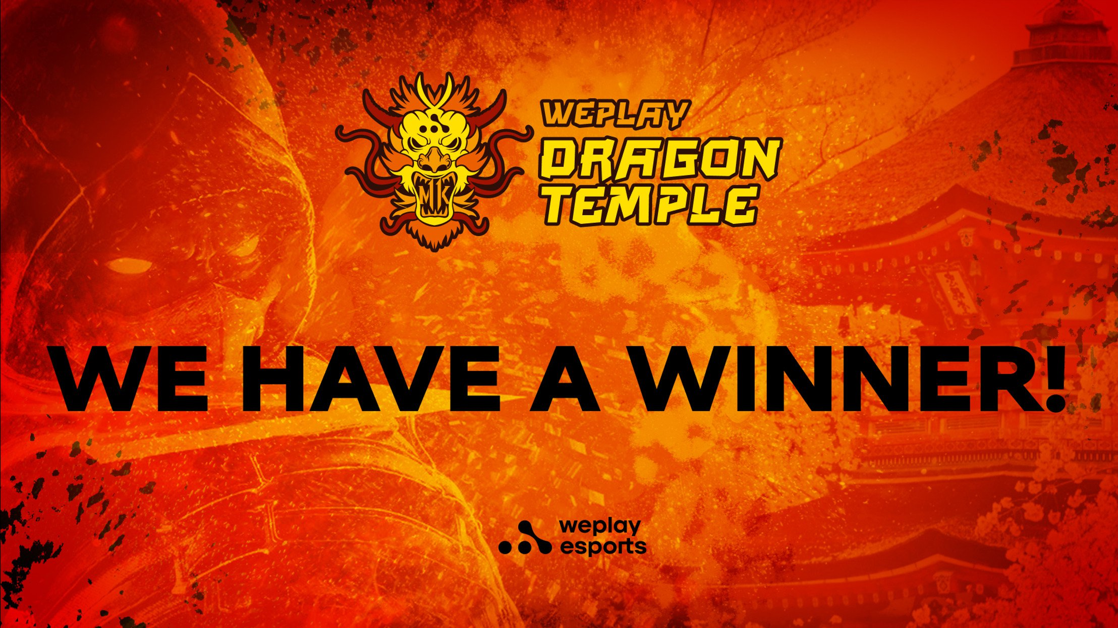 Meet the WePlay Dragon Temple Winner
