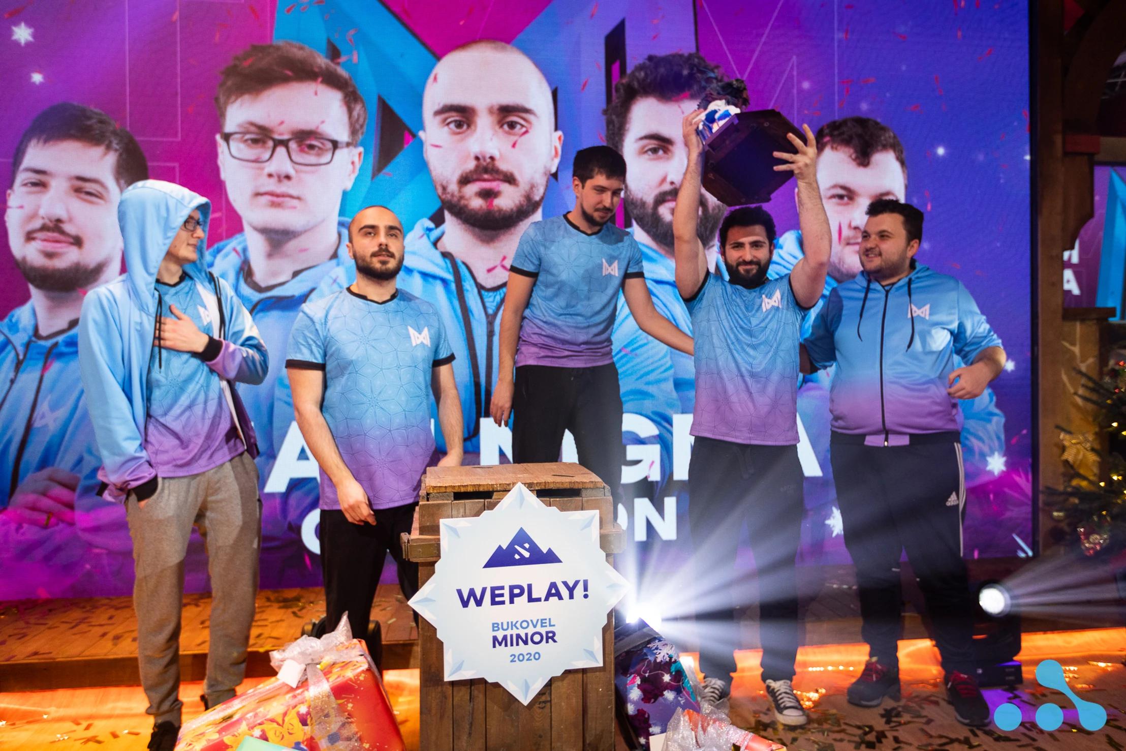 Nigma has won WePlay! Bukovel Minor 2020