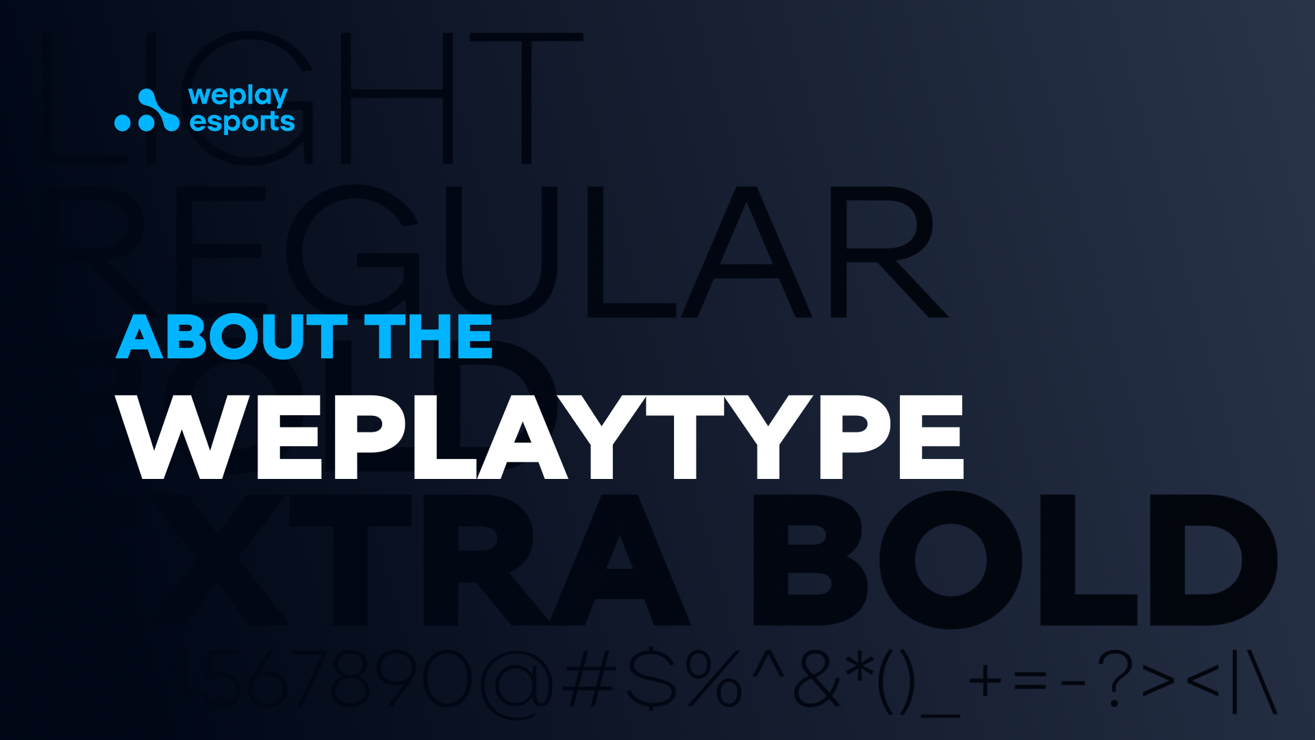 About the WePlayType
