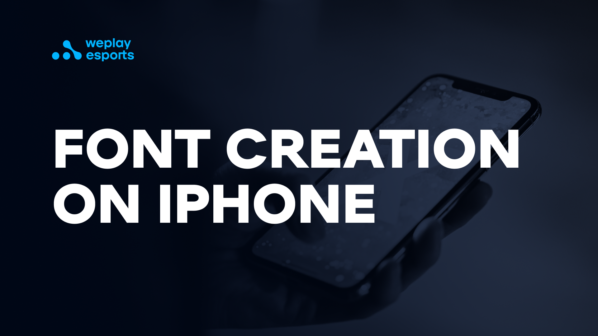 Font creation on iPhone