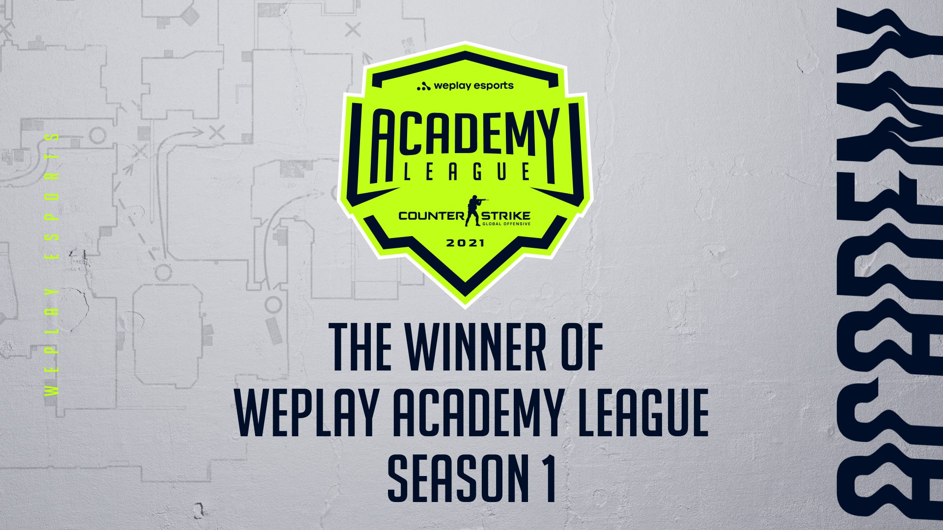 The winners of the WePlay Academy League Season 1. Image: WePlay Holding
