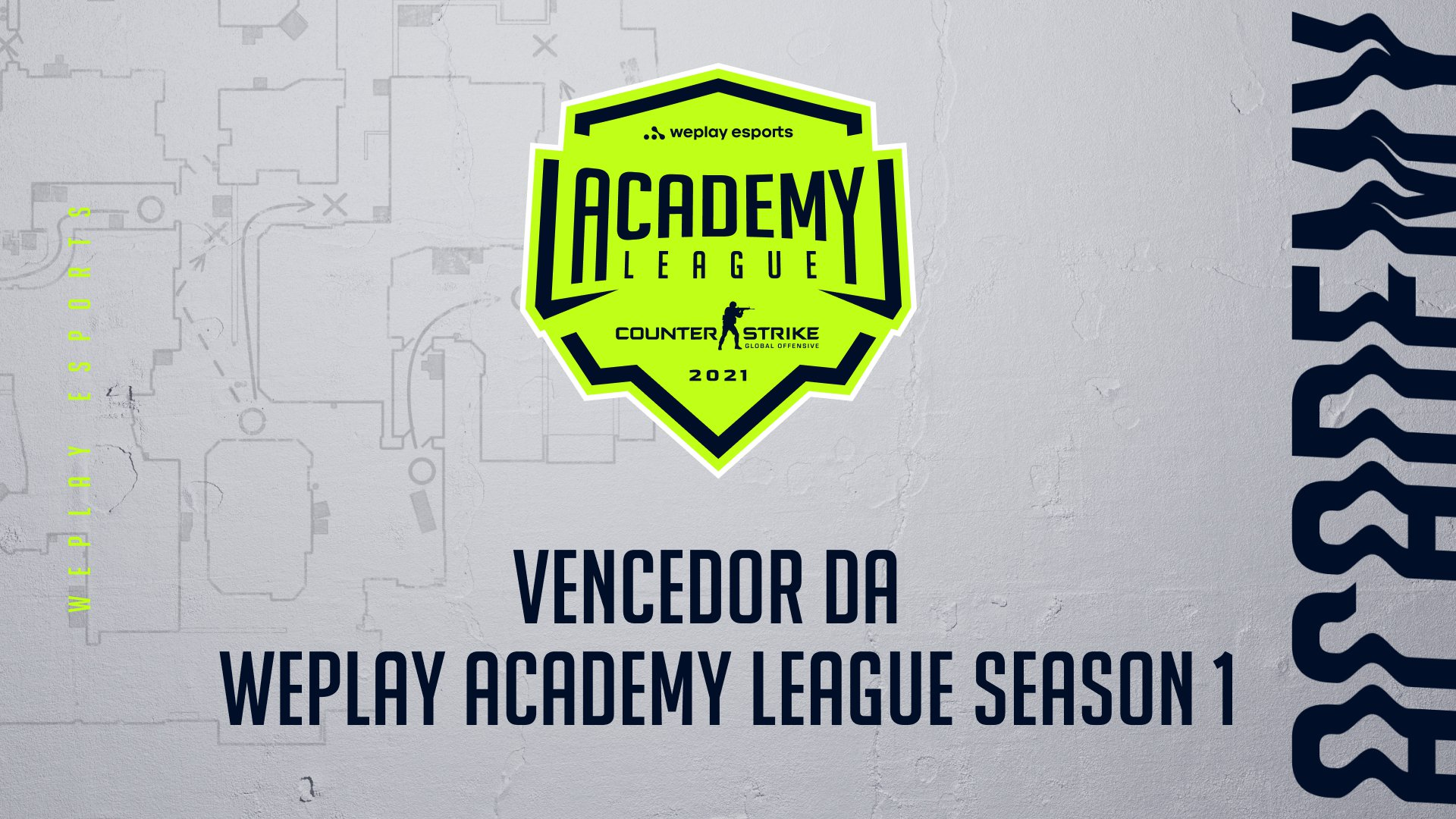Os vencedores da WePlay Academy League Season 1. Imagem: WePlay Holding