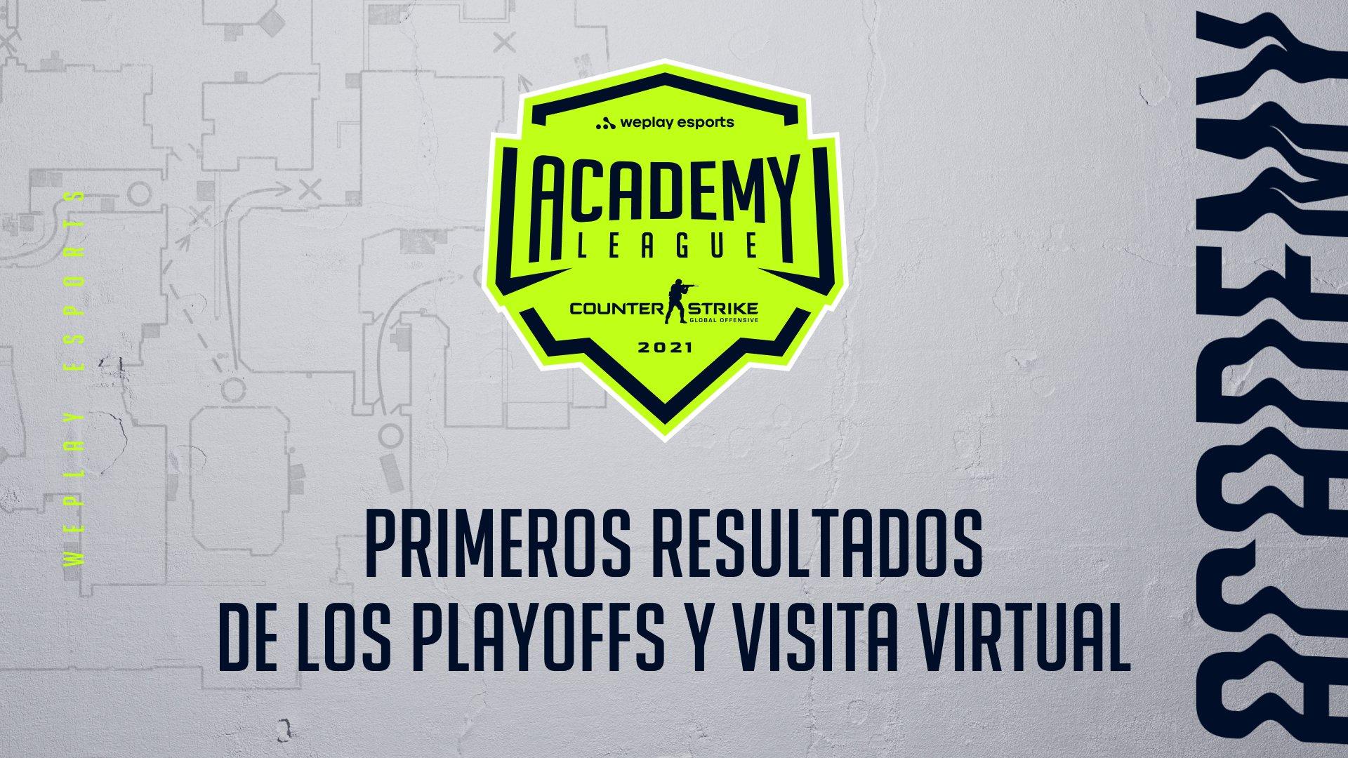 Temporada 1 de la WePlay Academy League: primeros resultados de los Playoffs y visita virtual. Imagen: WePlay Holding