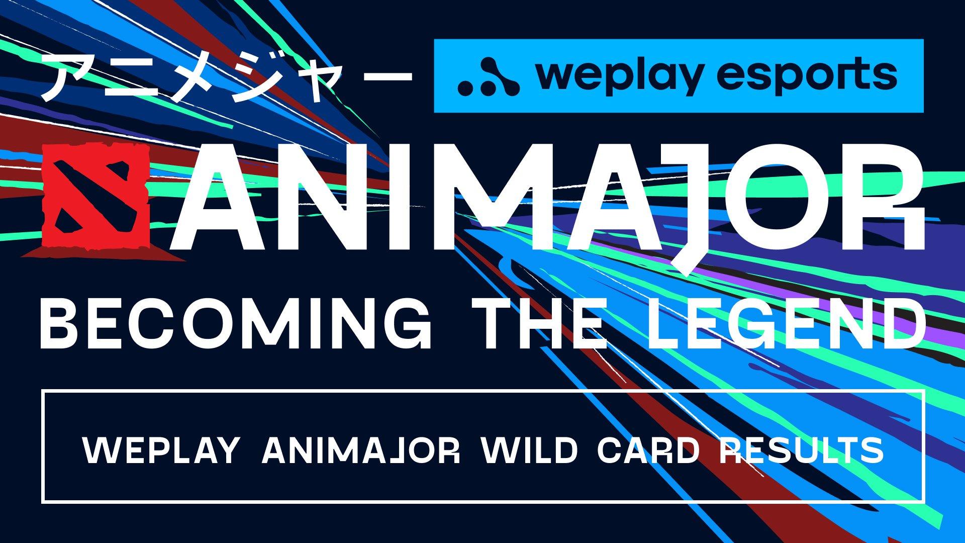 Результати етапу Wild Card WePlay AniMajor. Зображення: WePlay Esports