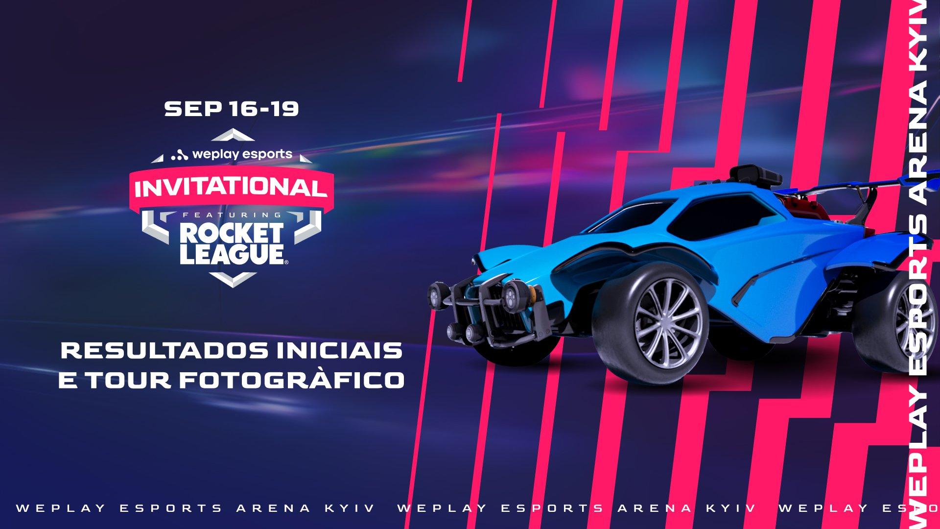 WePlay Esports Invitational: resultados iniciais e tour fotográficor. Imagem: WePlay Holding
