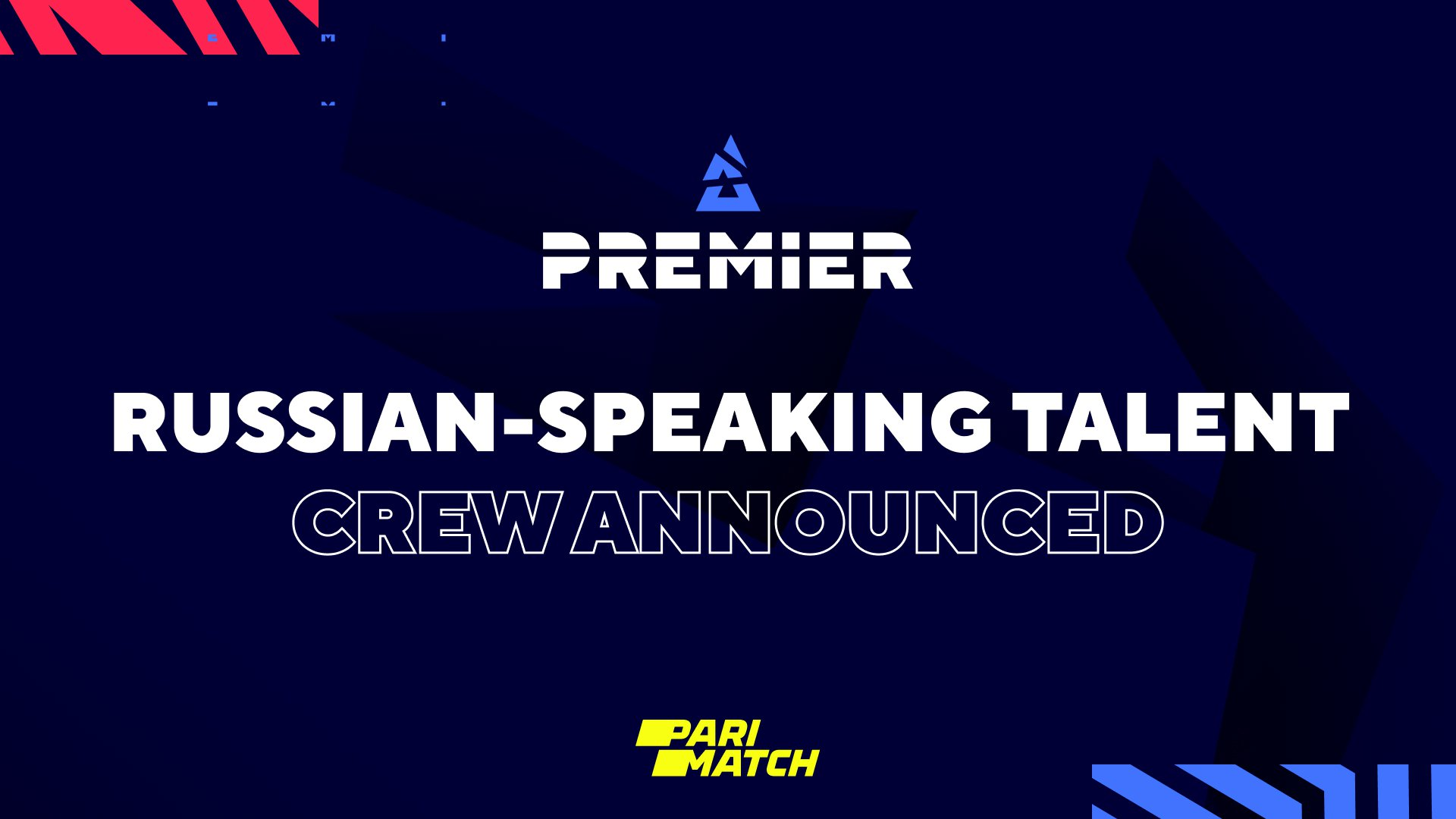 BLAST Premier: Fall Groups 2021 Russian-speaking talent crew announced. Image: WePlay Holding