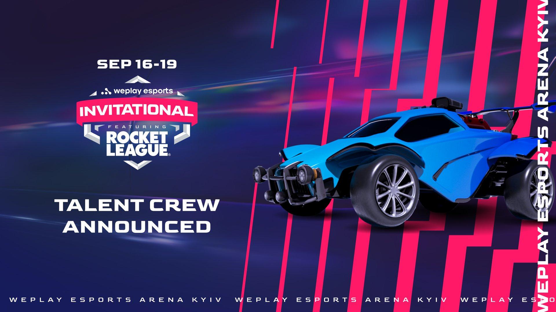 WePlay Esports Invitational talent crew. Visual: WePlay Holding