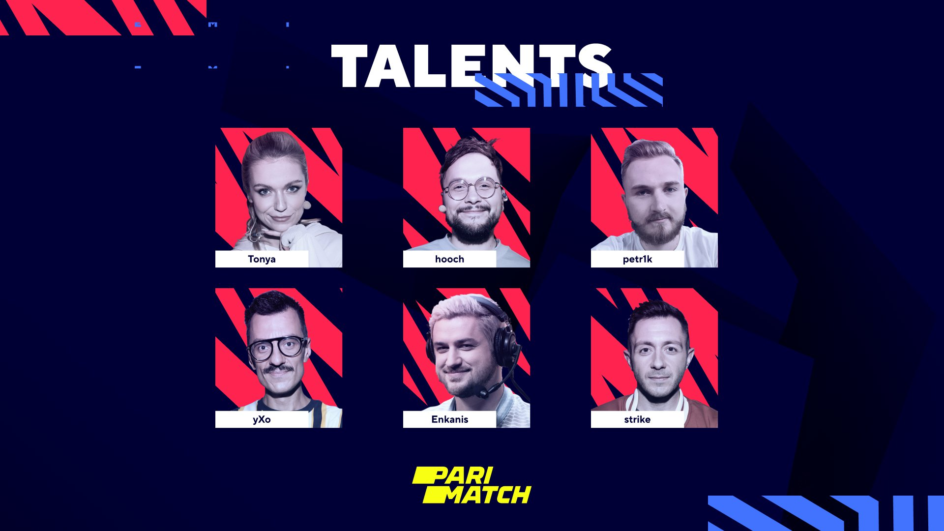 BLAST Premier: Fall Groups 2021 Russian-speaking talent crew. Image: WePlay Holding