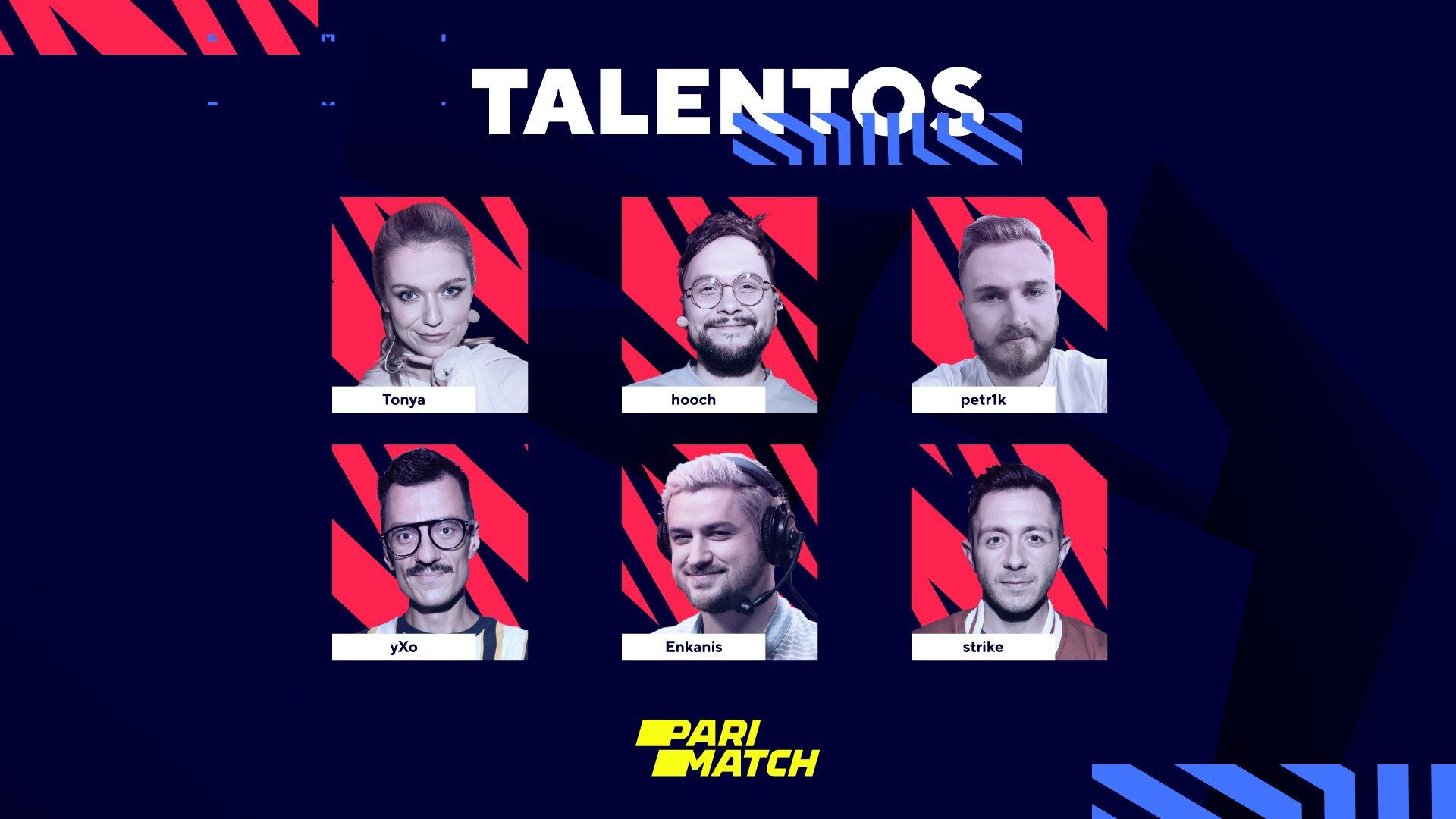 Equipo de talentos de habla rusa de BLAST Premier: Fall Groups 2021. Imagen: WePlay Holding
