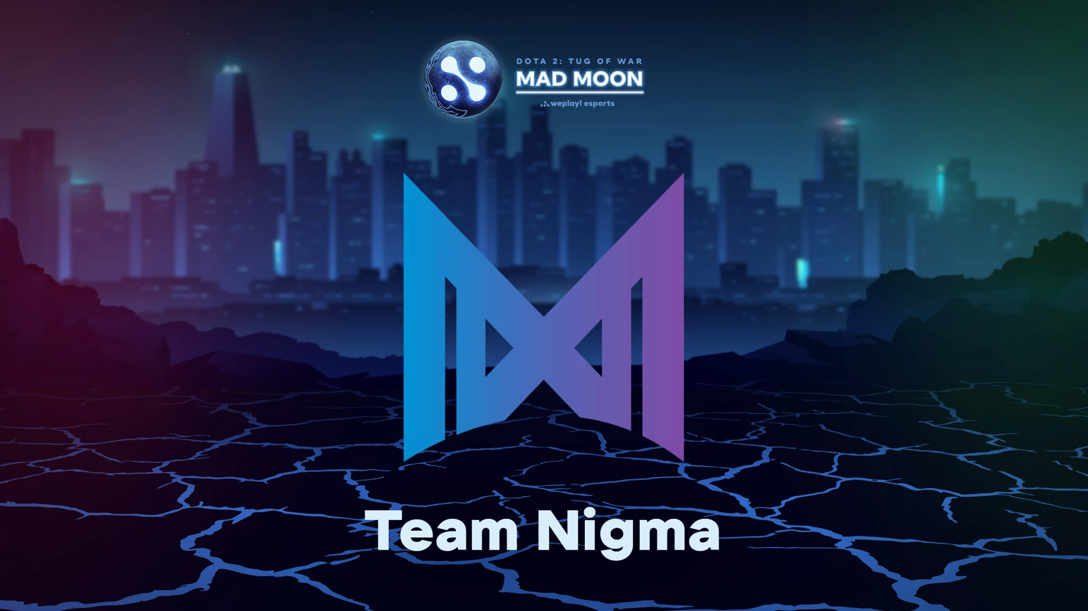 Team Nigma to play at WePlay! Mad Moon