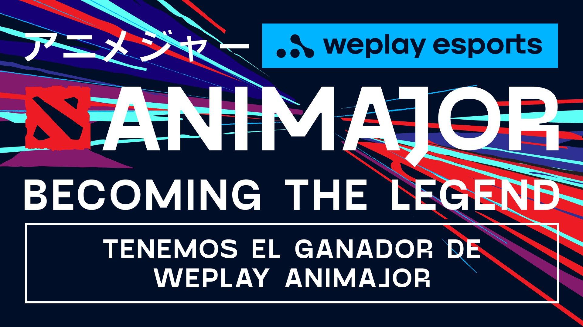 Tenemos al ganador de WePlay AniMajor. Imagen: WePlay Holding